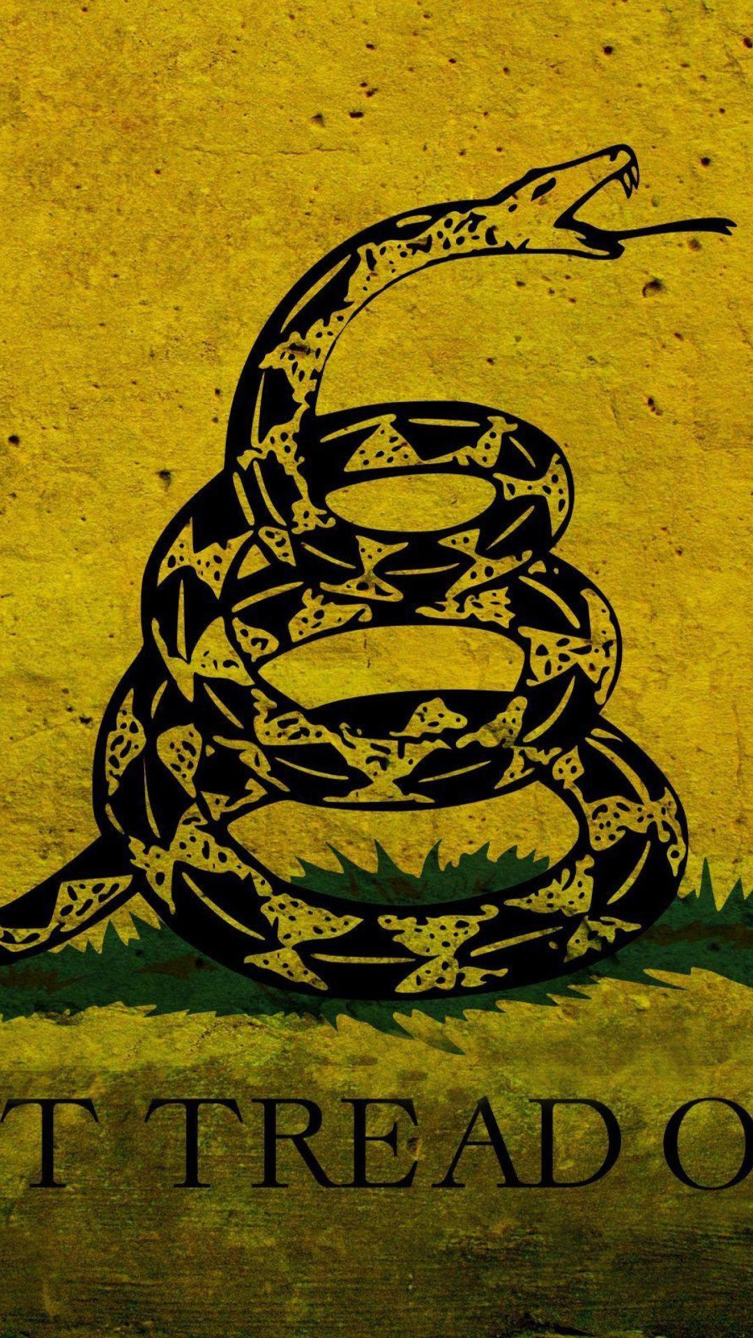 1080x1920 Gadsden flag dont tread on me iphone wallpapers | iPhone Wallpapers