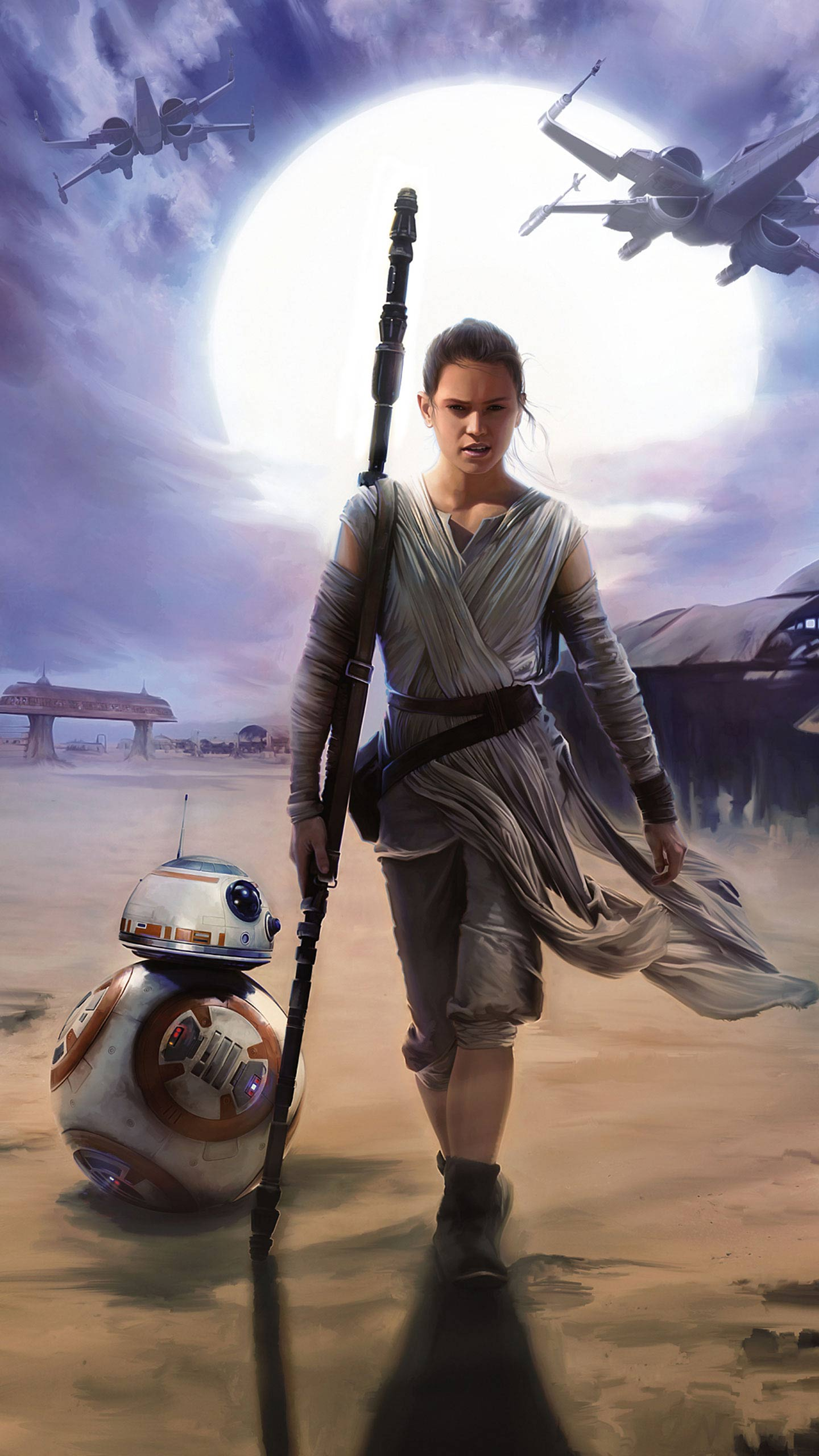 1440x2560 Star Wars: The Force Awakens wallpapers for your iPhone 6s and ...