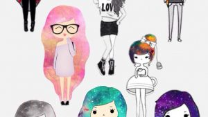 Kawaii Hipster Girl Cartoon Wallpapers – Top Free Kawaii Hipster Girl Cartoon Backgrounds