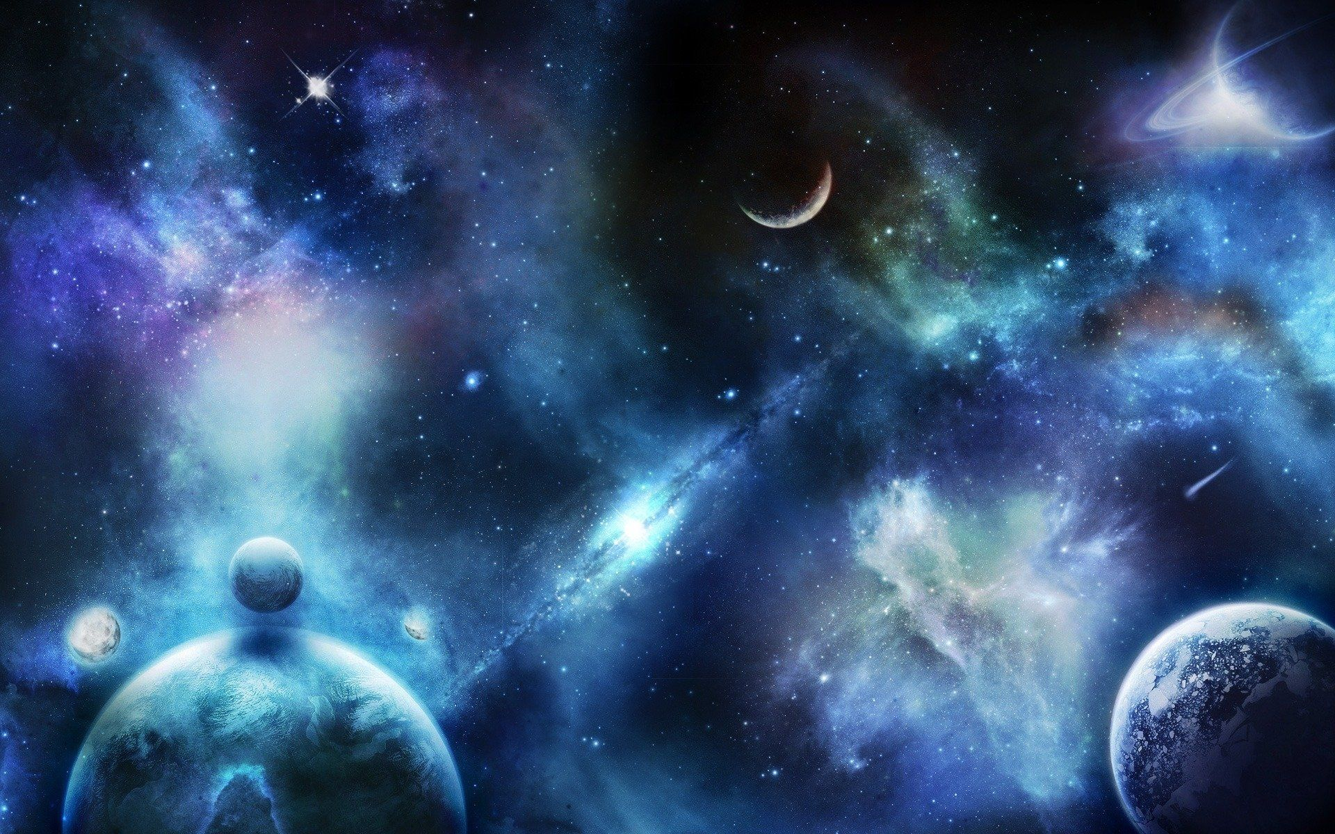 1920x1200 884 Planets HD Wallpapers   Background Images - Wallpaper Abyss