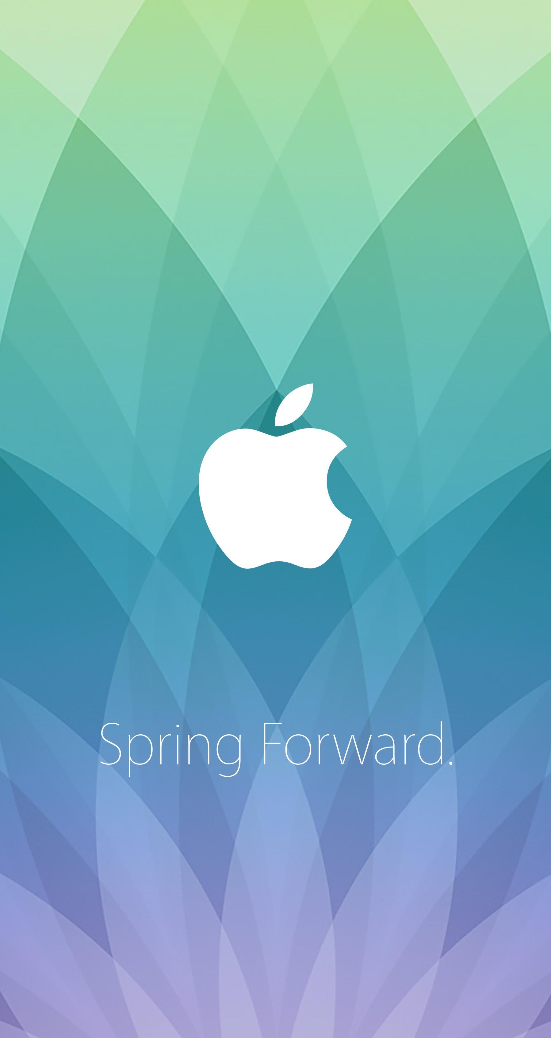 1797x3384 Apple Watch event wallpapers put Spring Forward invite on your Mac