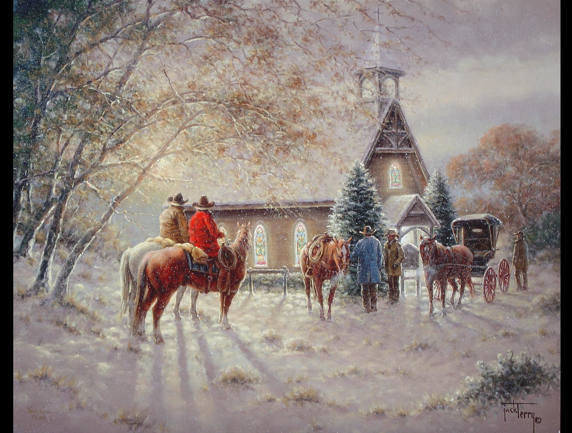 1944x1472 Western Christmas Background Wallpaper (49+ images)