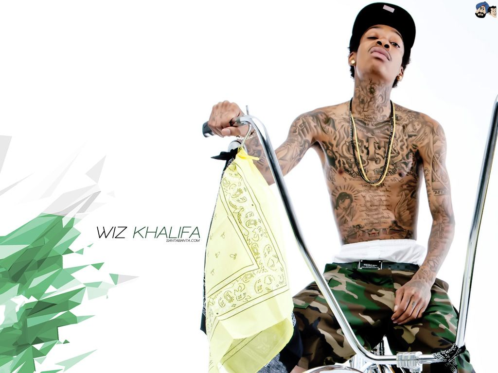 1024x768 Wiz Khalifa Wallpaper #5