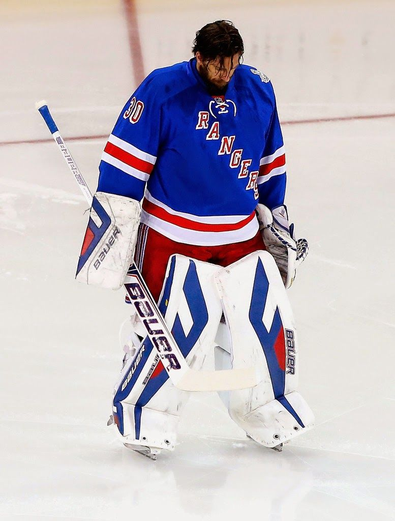 777x1024 The Henrik Lundqvist Blog: Anchor of Rangers Buoys Them Just in Time
