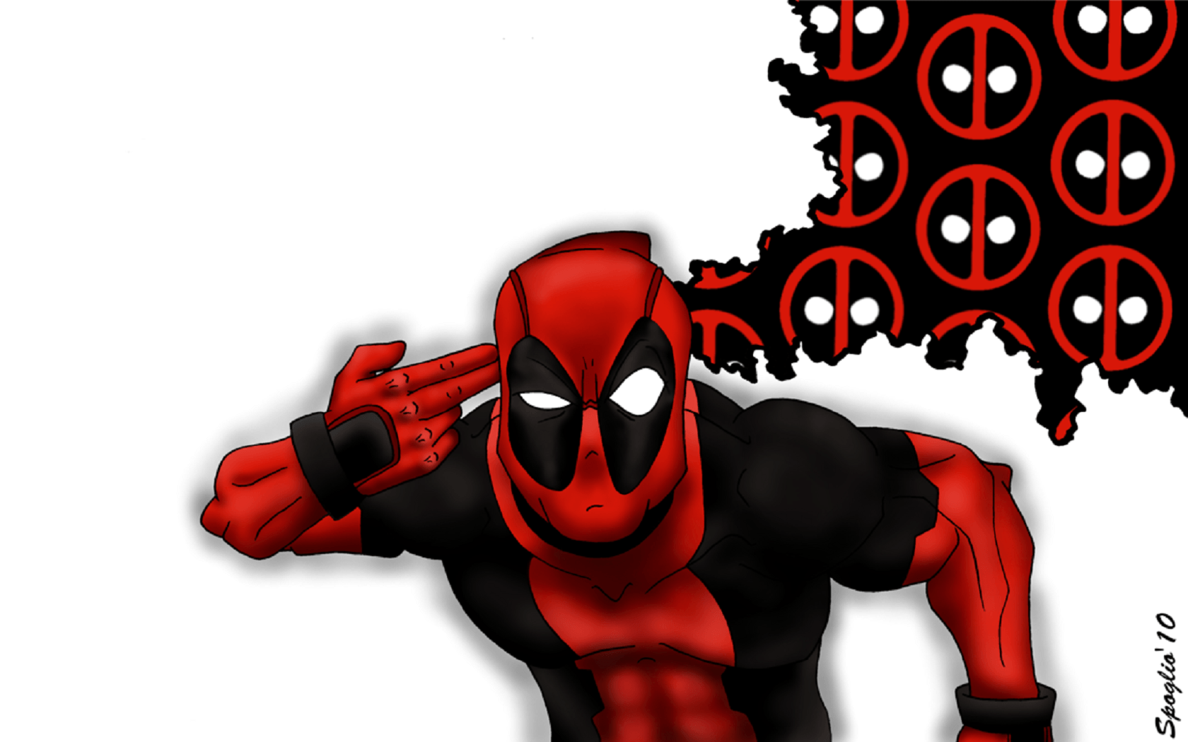 1680x1050 Wallpaper Deadpool by Spoglio91 | Deadpool / Wade Wilson | Know Your ...