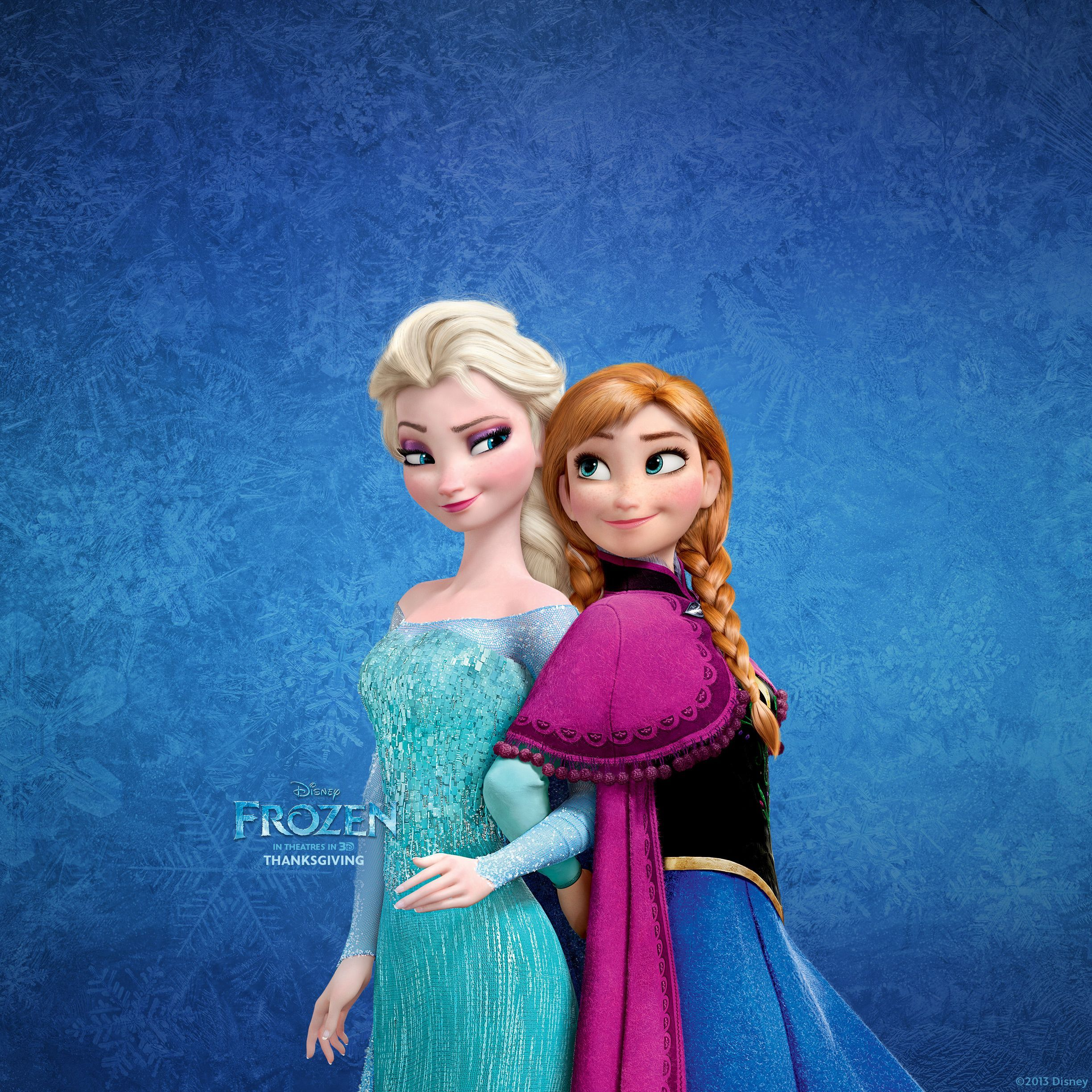 2448x2448 Frozen Elsa and Anna Wallpaper for Ipad | Frozen | Pinterest | Elsa