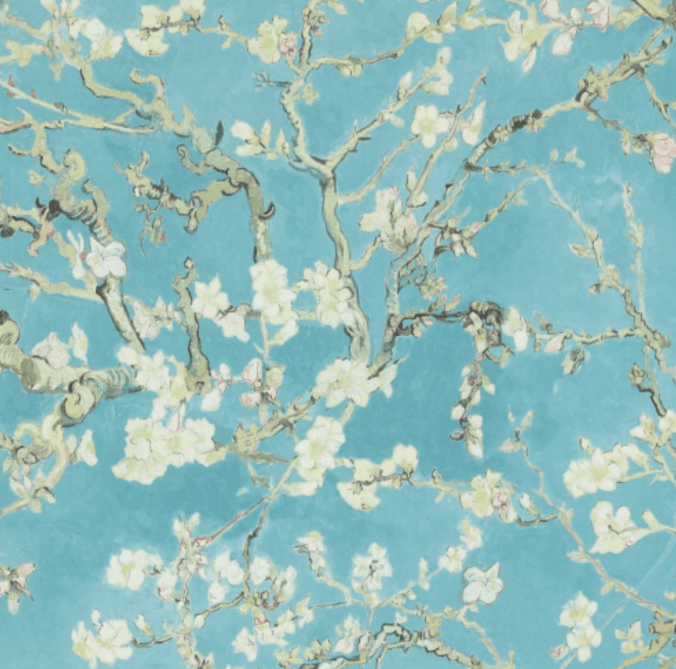 982x972 The Vincent Van Gogh Wallpaper Collection; Almond Blossoms – Von ...