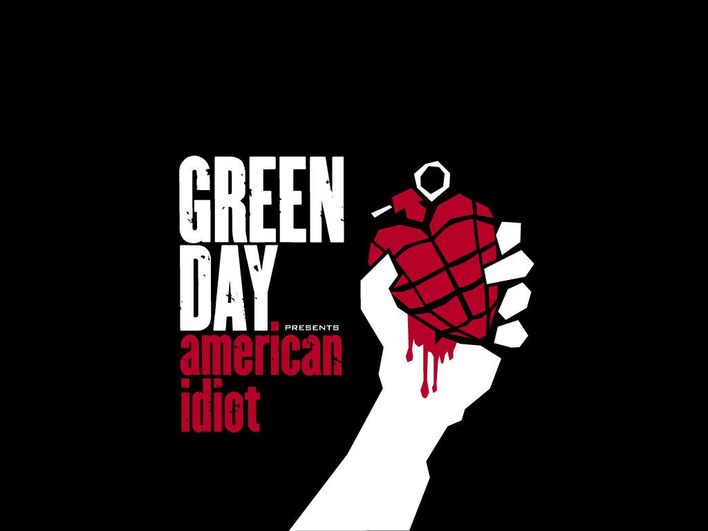 1024x768 92 Wallpapers: Green Day American Idiot Wallpaper
