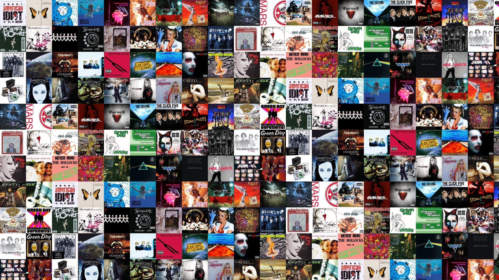 1920x1080 Green Day American Idiot Paramore Brand New Eyes Wallpaper « Tiled ...