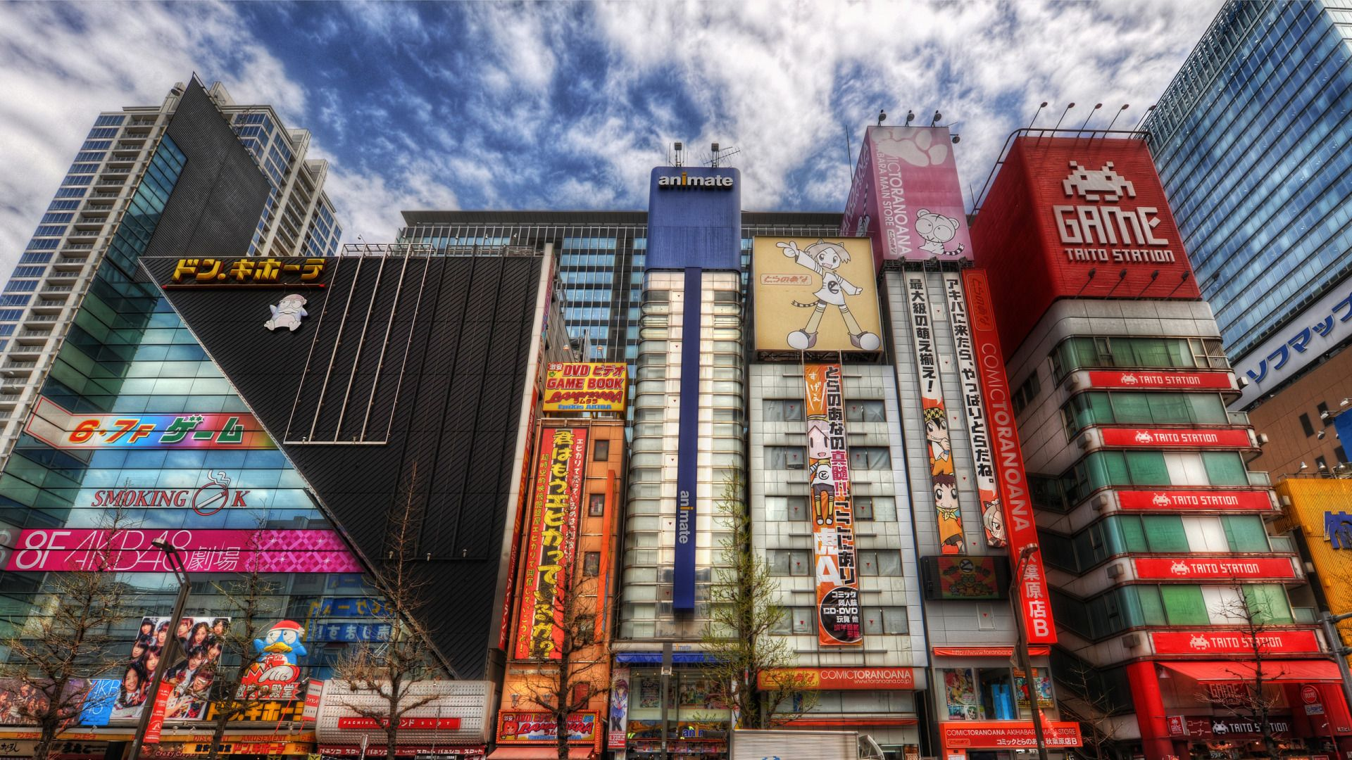 1920x1080 Street Akihabara in Tokyo wallpapers and images - wallpapers ...