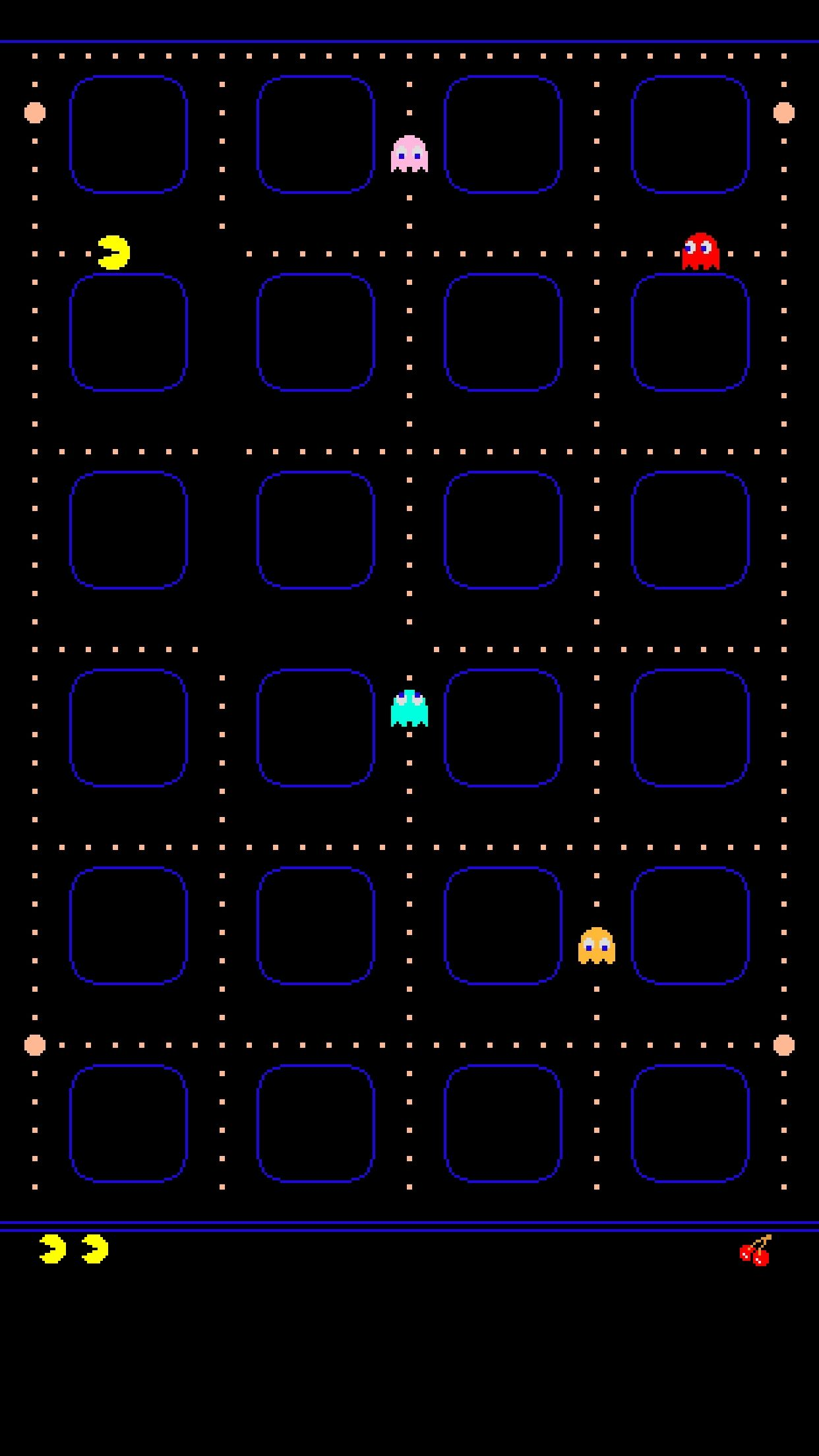 1242x2208 Best Of Animated Pacman iPhone Wallpaper Design - Anime Wallpaper HD