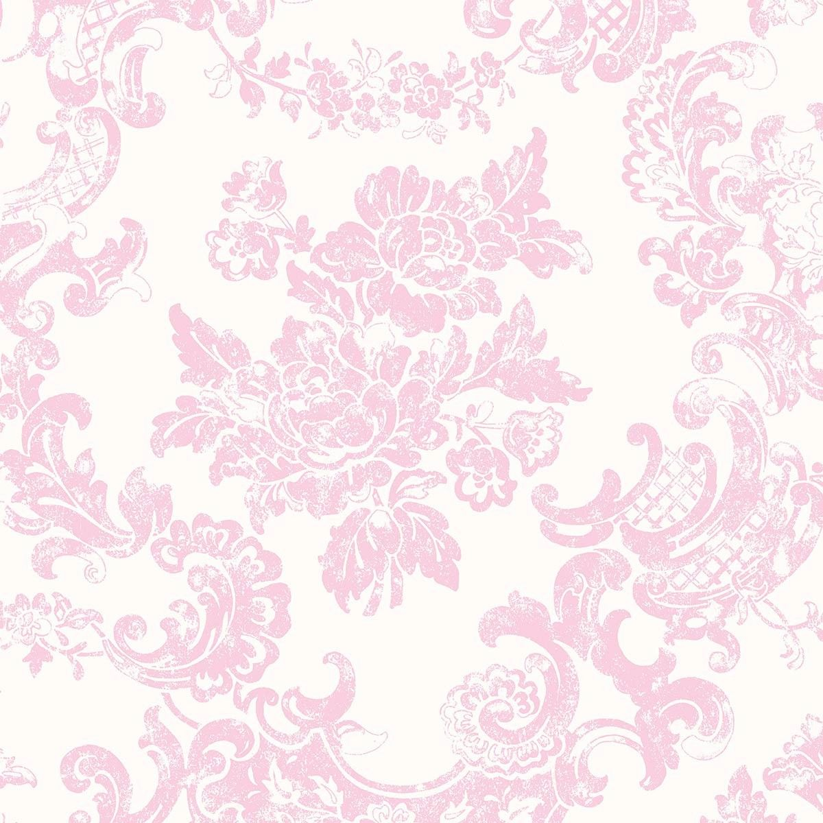 1200x1200 Crown Vintage Lace Marshmallow Wallpaper | Inspired Wallpaper