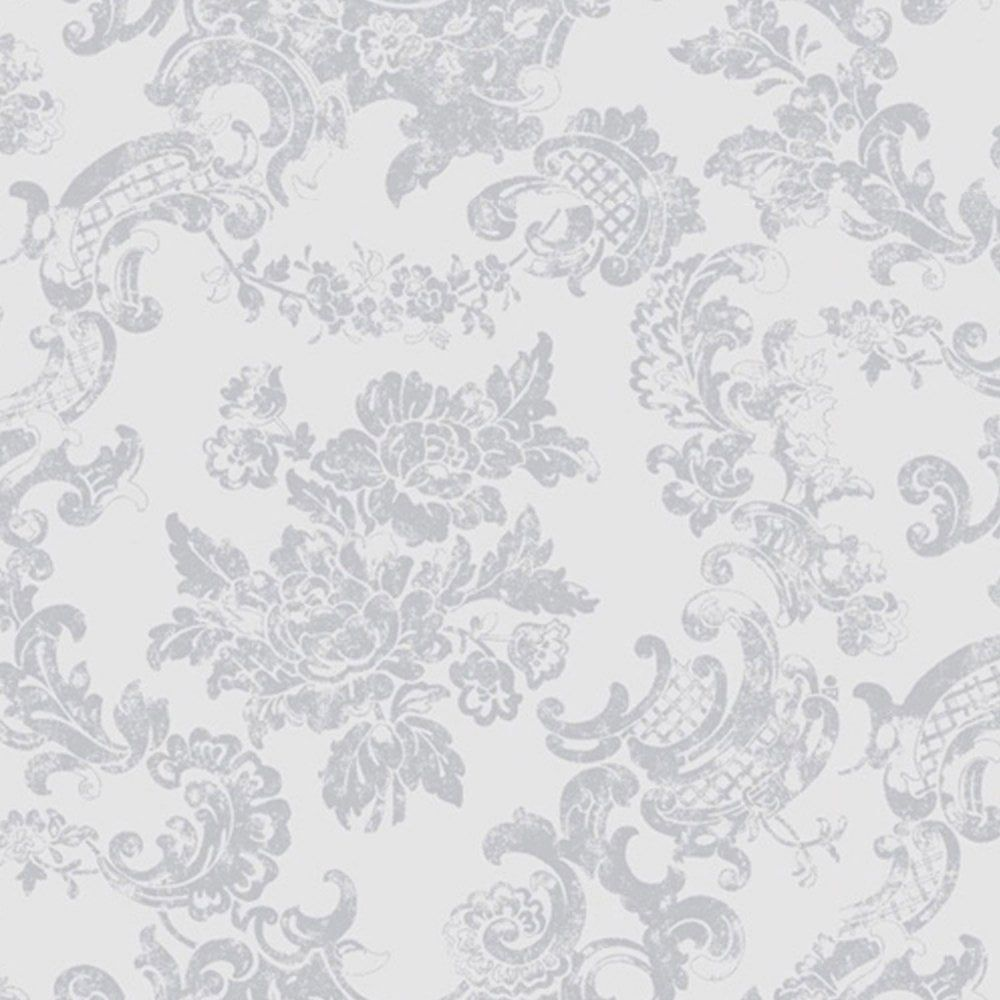 1000x1000 Coloroll Vintage Lace Wallpaper Dove Grey (M0755) - Wallpaper from I ...