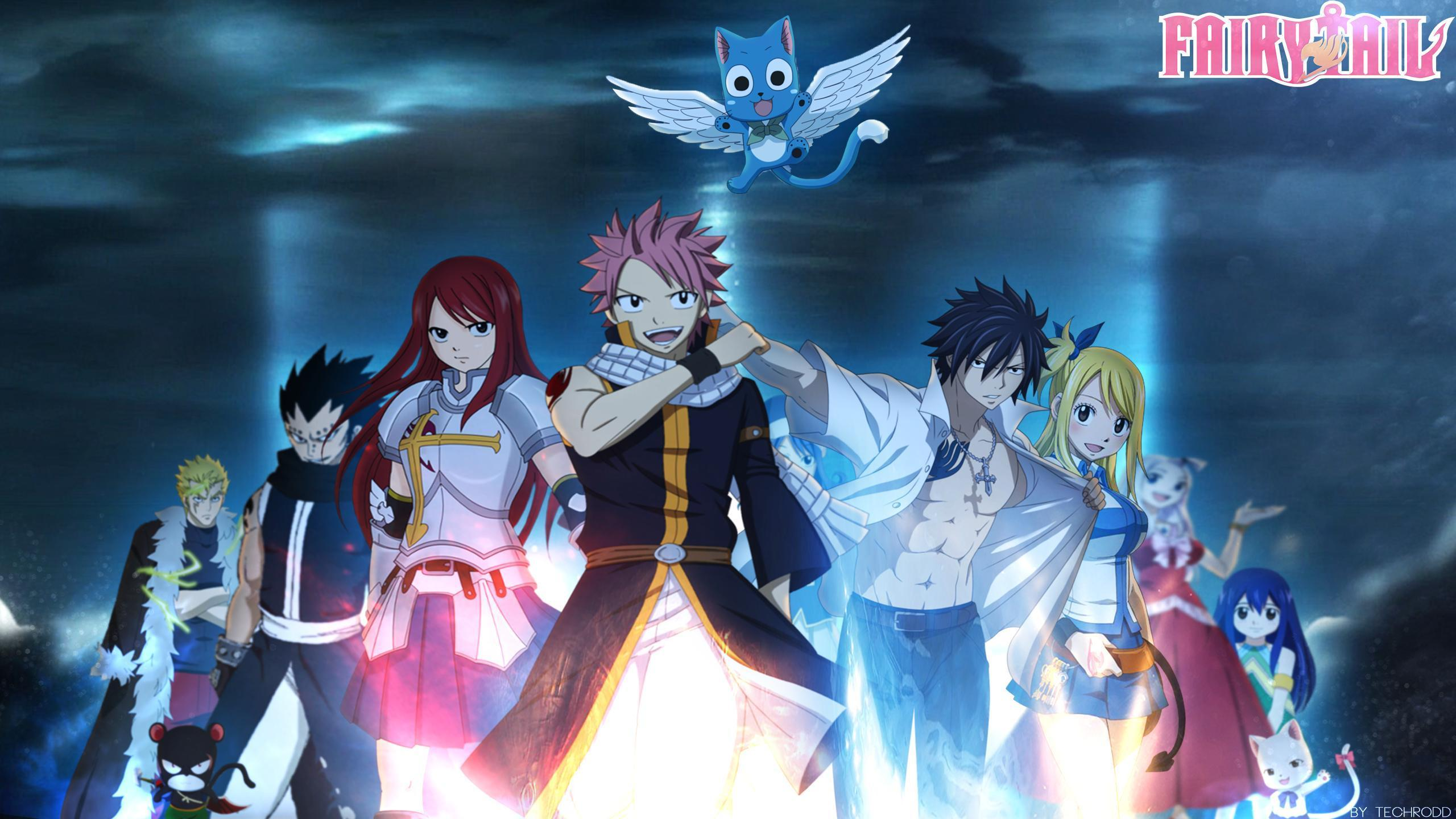 2560x1440 Fairy Tail Wallpapers HD