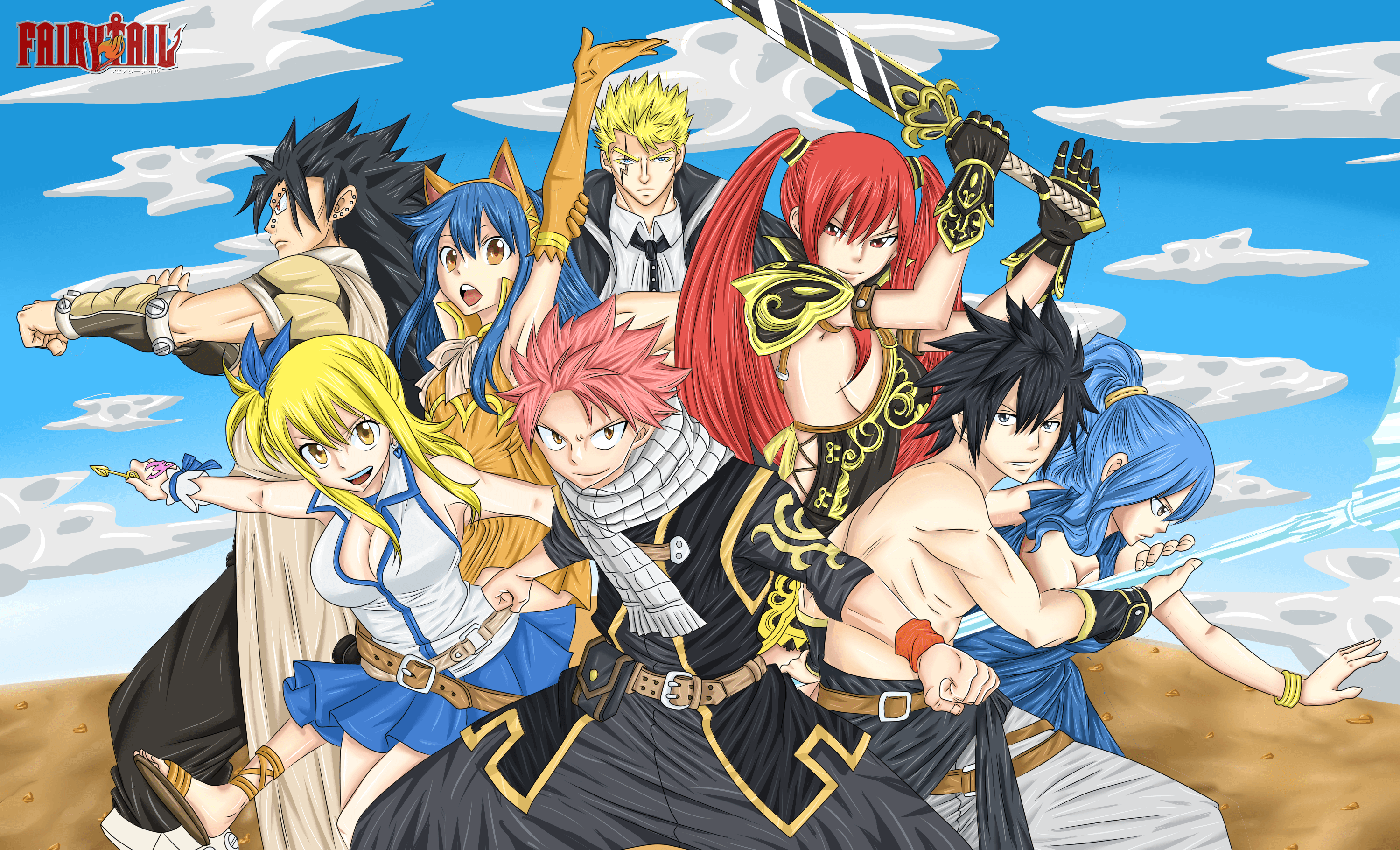 3000x1821 Fairytail Wallpaper (23)