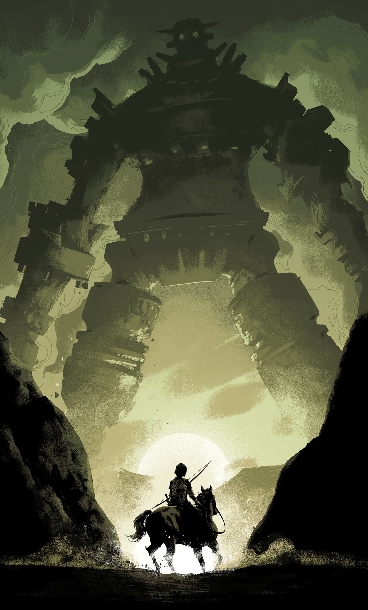 1280x2120 1280x2120 Shadow Of The Colossus 2018 iPhone 6+ HD 4k Wallpapers ...