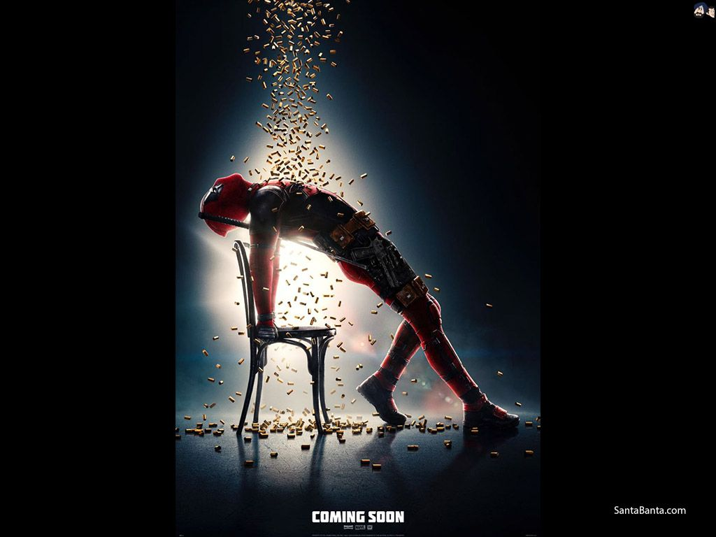 1024x768 Deadpool 2 Movie Wallpaper #3