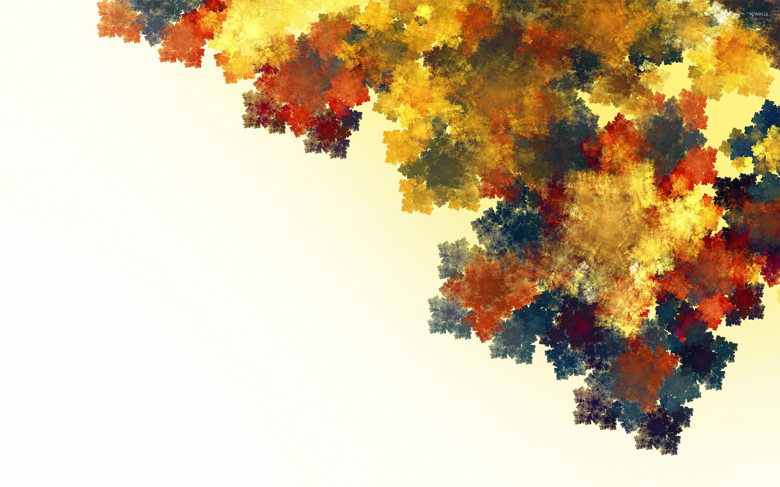 2560x1600 Autumn leaves wallpaper - Abstract wallpapers - #8220