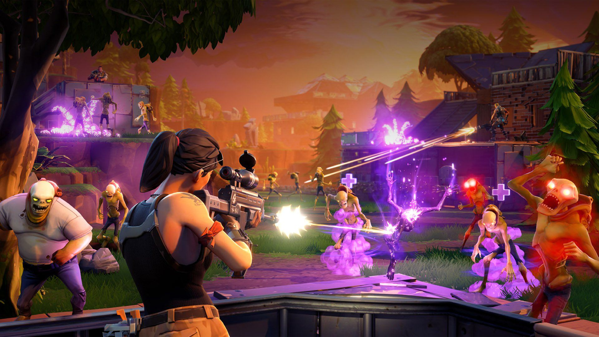 1920x1080 Fortnite Accidentally Enabled Crossplay Between Xbox One & PS 4
