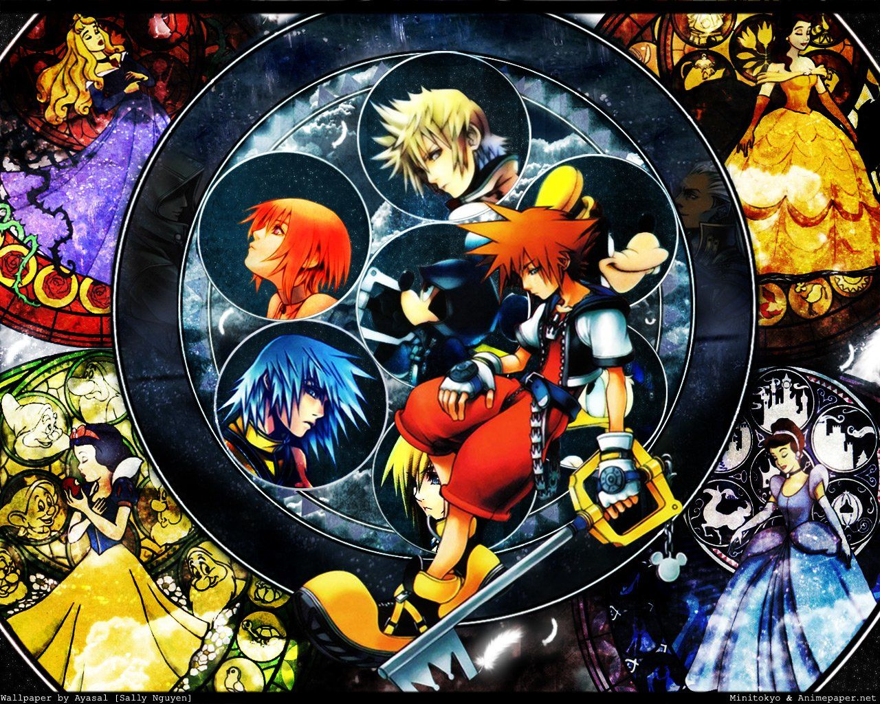 1280x1024 91 Kingdom Hearts HD Wallpapers | Background Images - Wallpaper Abyss