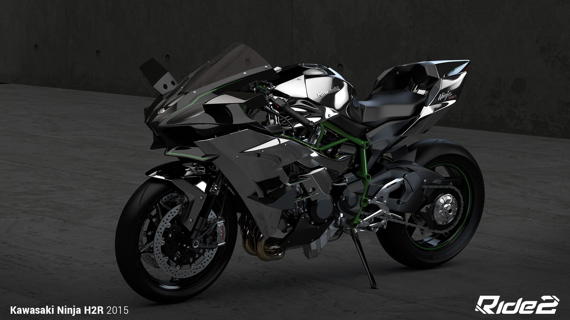 1920x1080 2015 Kawasaki Ninja H2R HD Wallpaper | Background Image | 1920x1080 ...