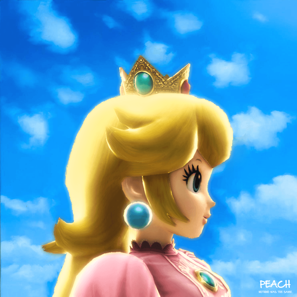 1024x1024 Princess Peach: Nothing Was the Same Album Cover by ST3PH3NART on ...