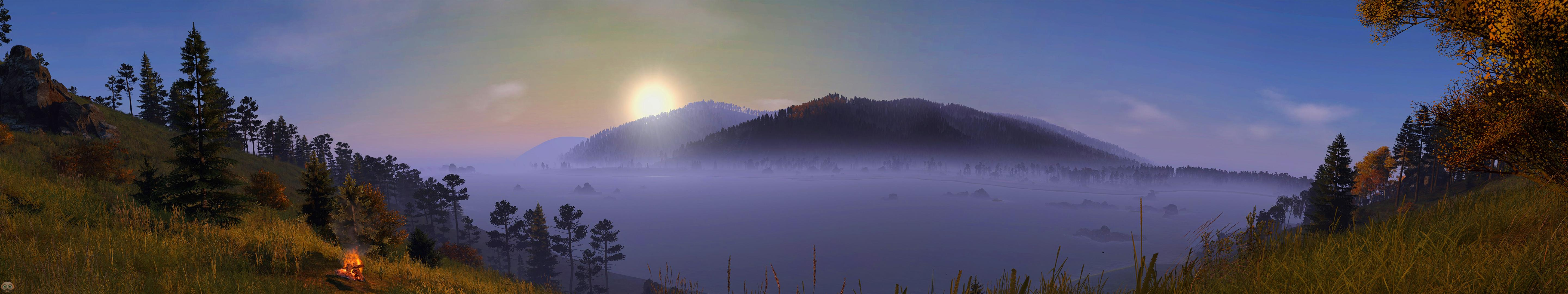 5760x1080 Skalisty Panorama (3 monitor wallpaper 5760 x 1080) : dayz