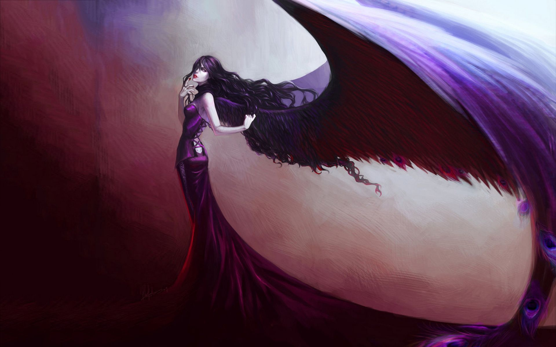1920x1200 Fallen Angel Wallpaper - Wallpapers Browse