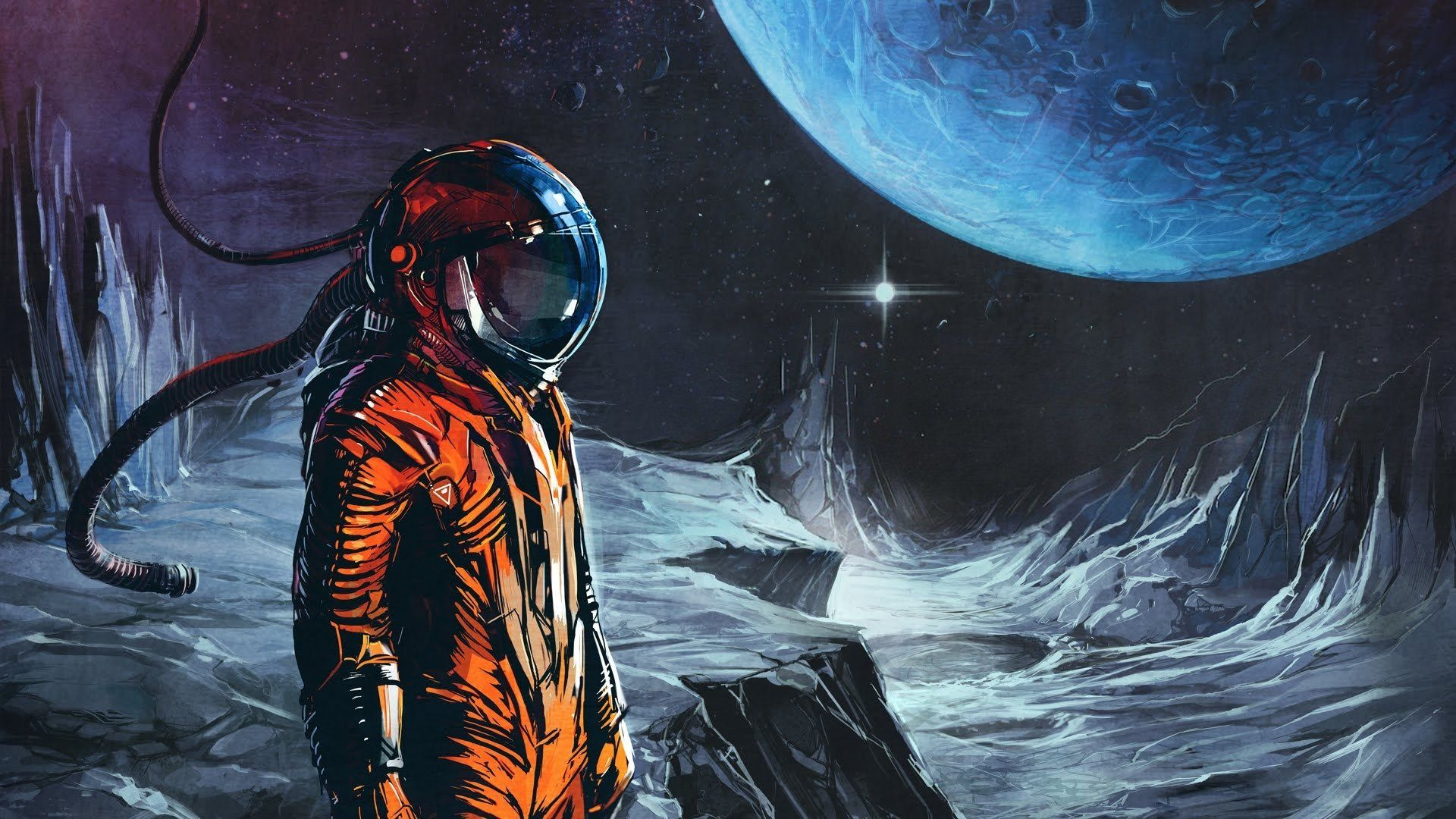 1920x1080 220 Astronaut HD Wallpapers | Background Images - Wallpaper Abyss