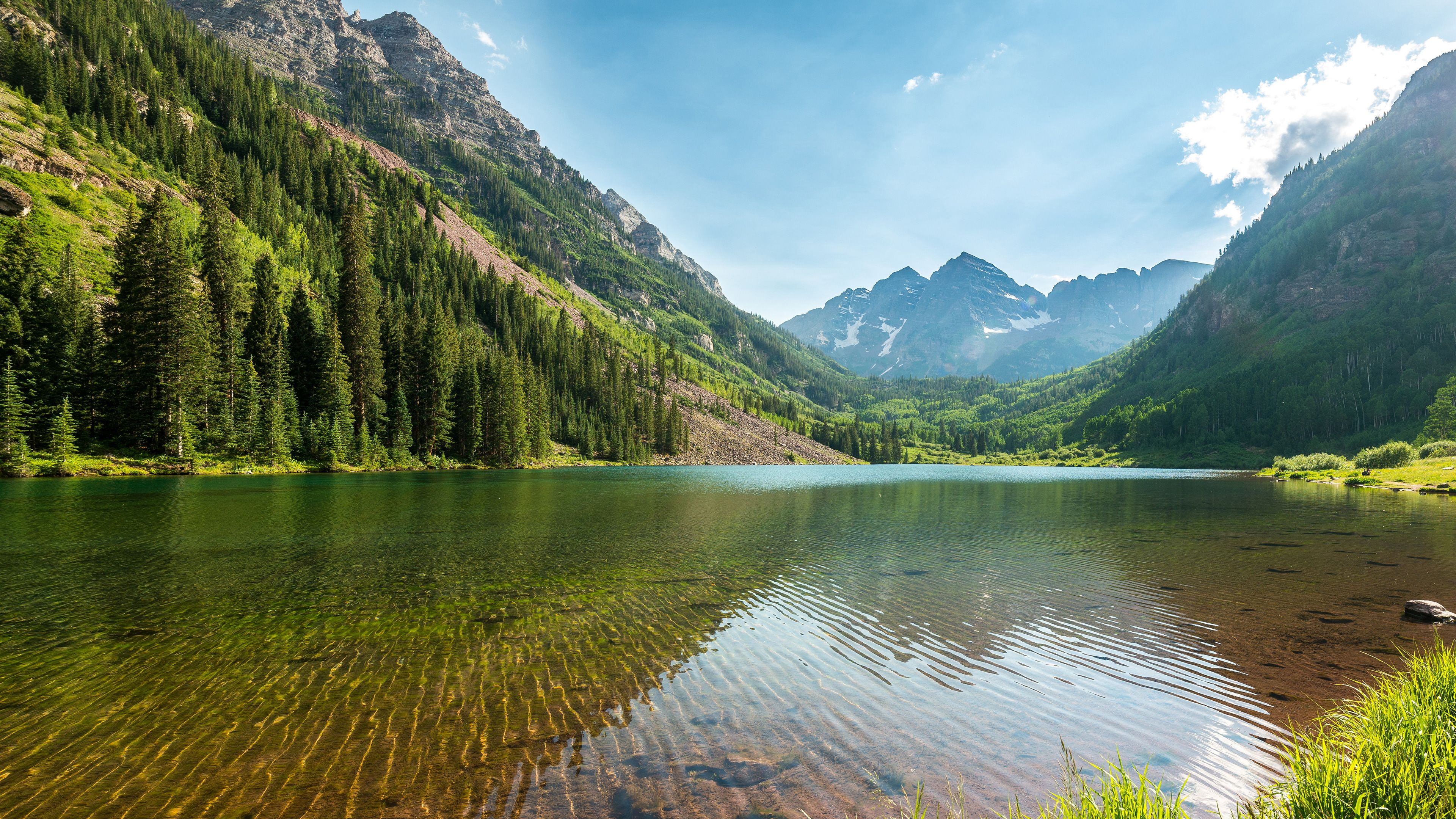 3840x2160 Nature Lake And Mountains 4k Hd Dell Xps 13 wallpapers | Tablet ...