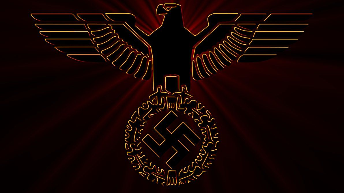 1192x670 Eagle of National Socialism with German Colors by William-of-Orange ...