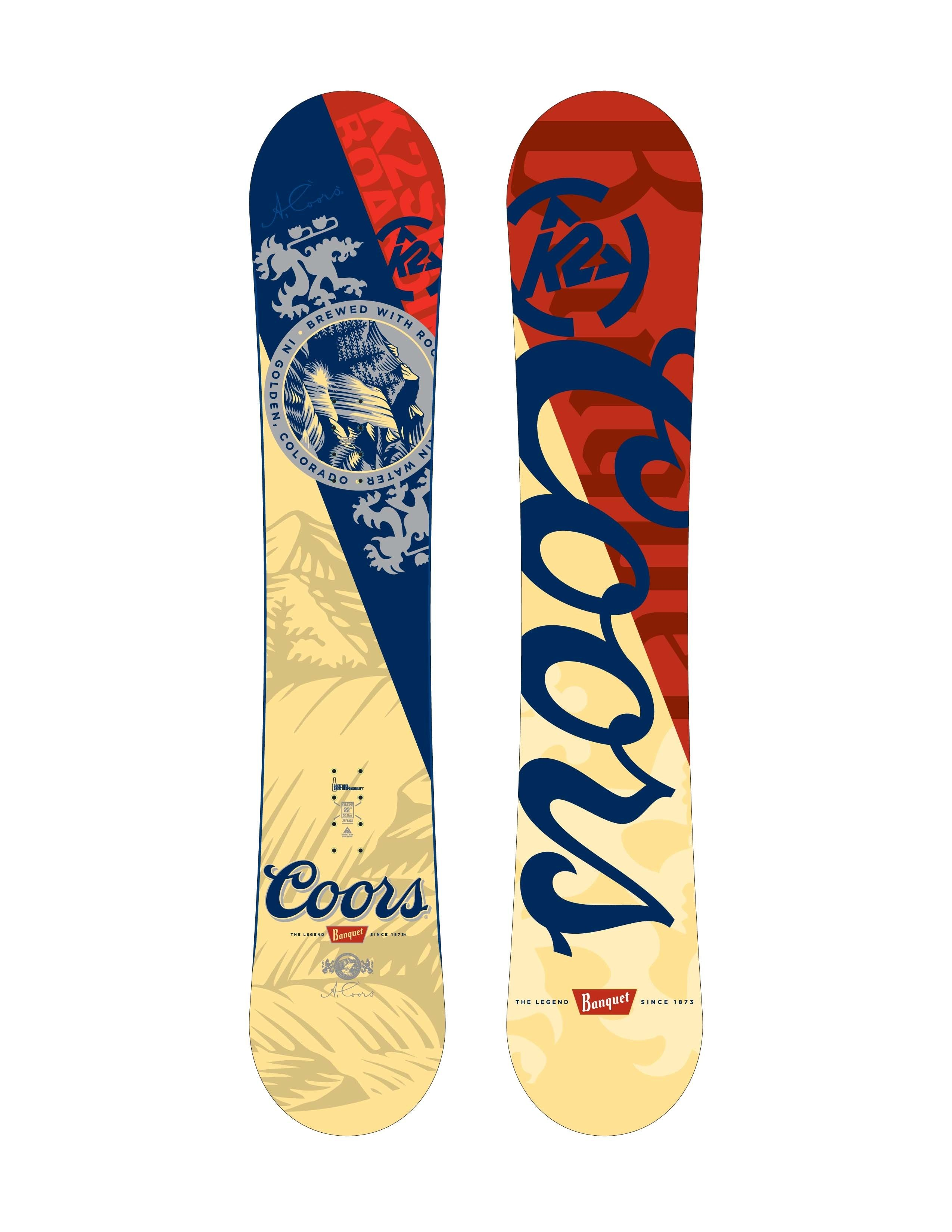 2550x3300 K2 and Coors Collabo | TransWorld SNOWboarding
