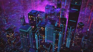 80s Neon City Wallpapers – Top Free 80s Neon City Backgrounds