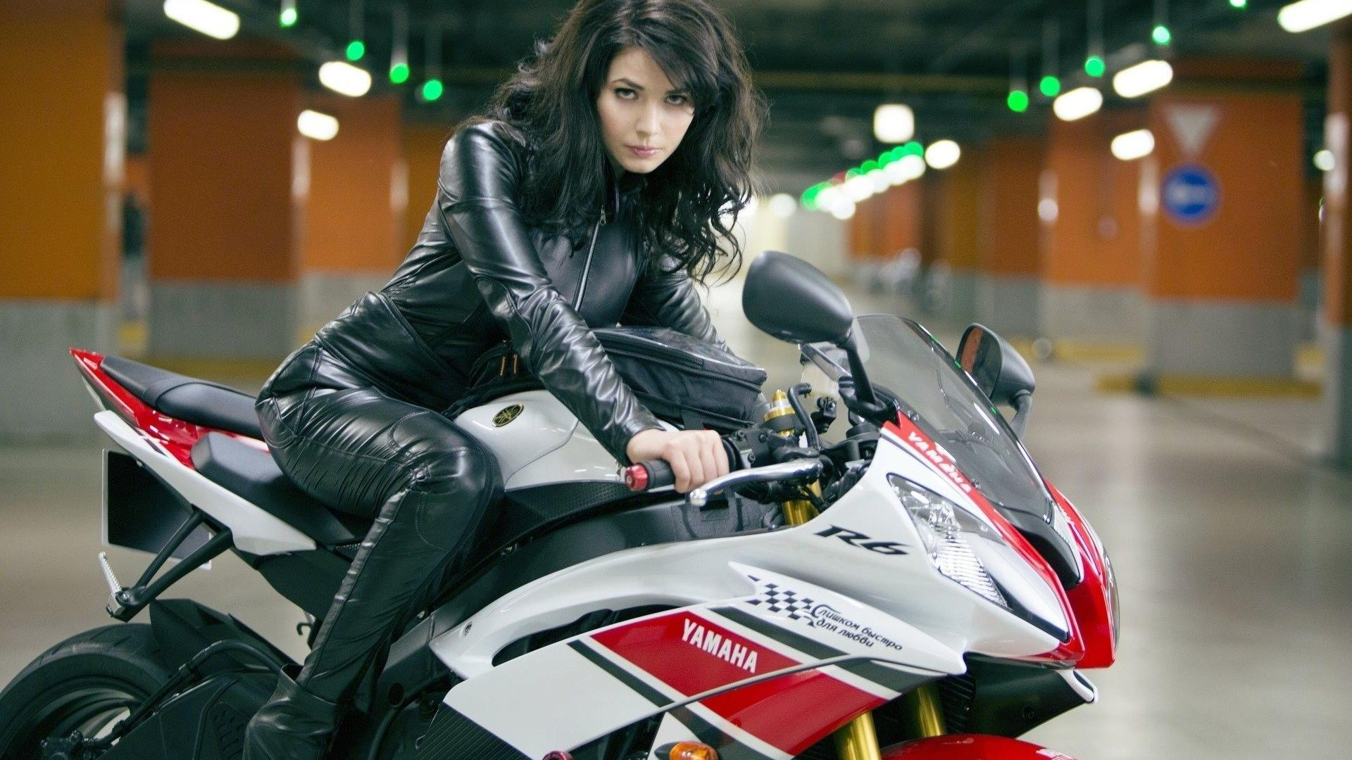 1920x1080 Girl and motorcycle wallpaper | (134191)