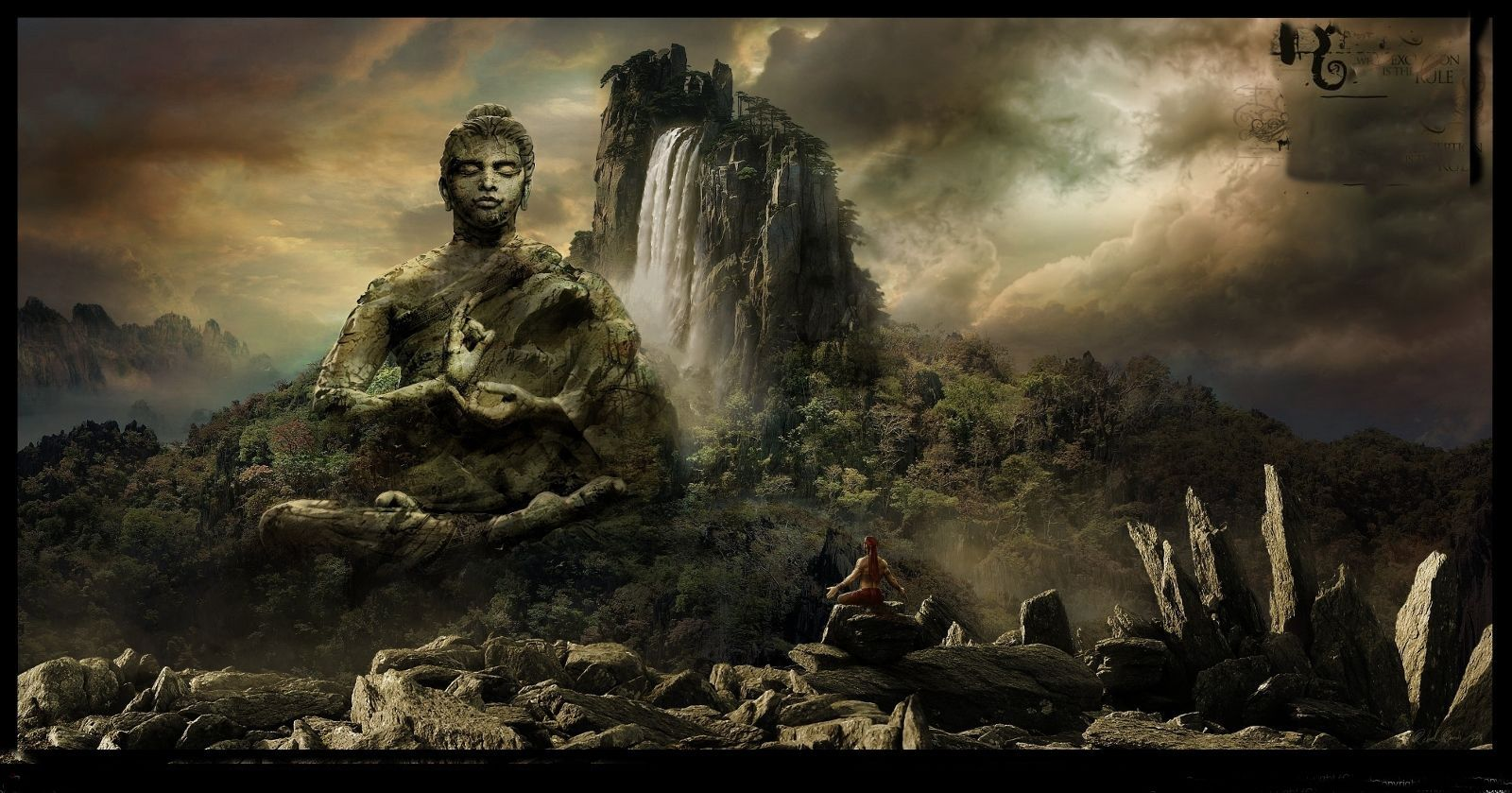 1600x839 Buddha Wallpapers - GanZHenjuN.com