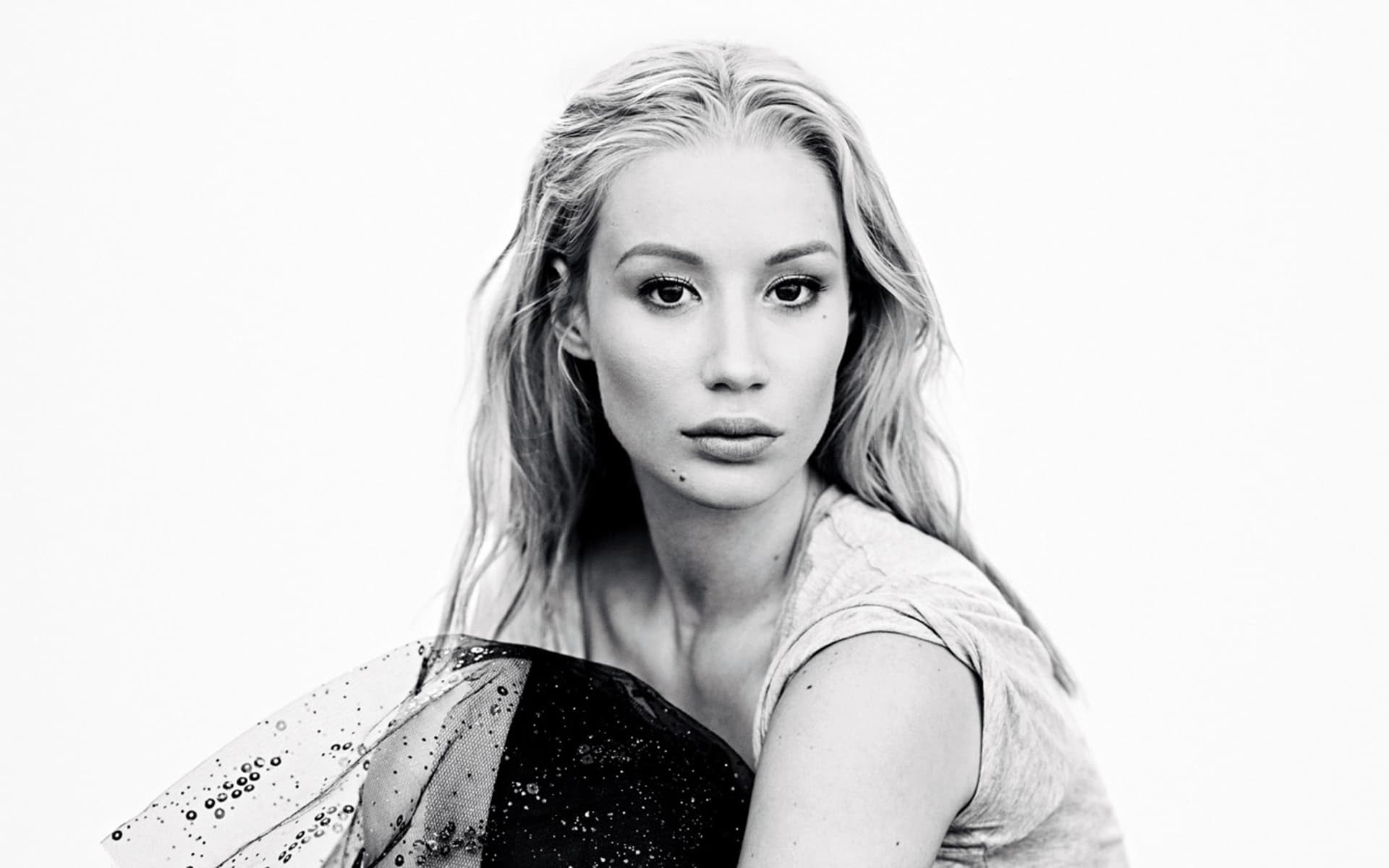 1920x1200 Monochrome Iggy Azalea Wallpaper 62193 1920x1200 px ~ HDWallSource.com