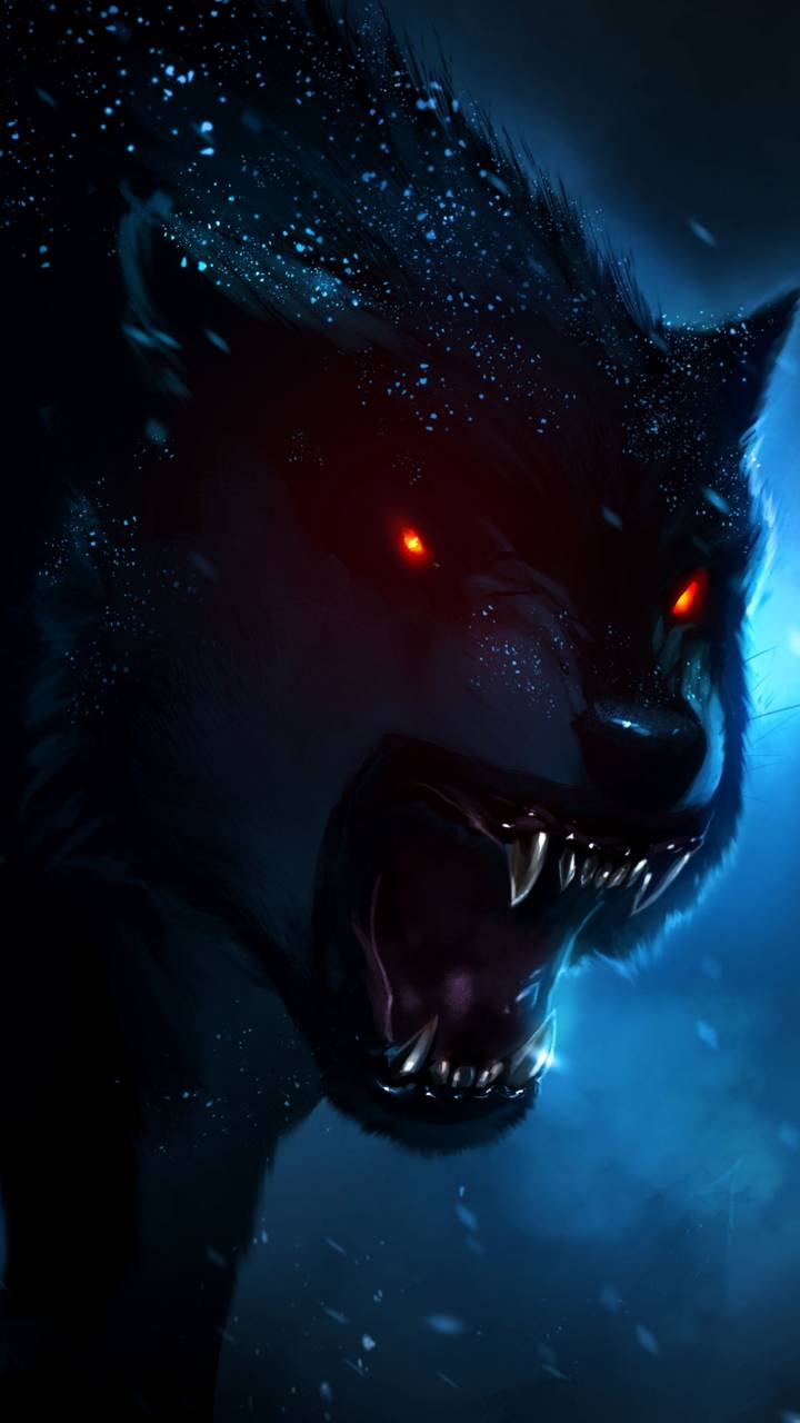 720x1280 Angry Wolf wallpaper by xBRiLLiaNTx • ZEDGE™ - free your phone
