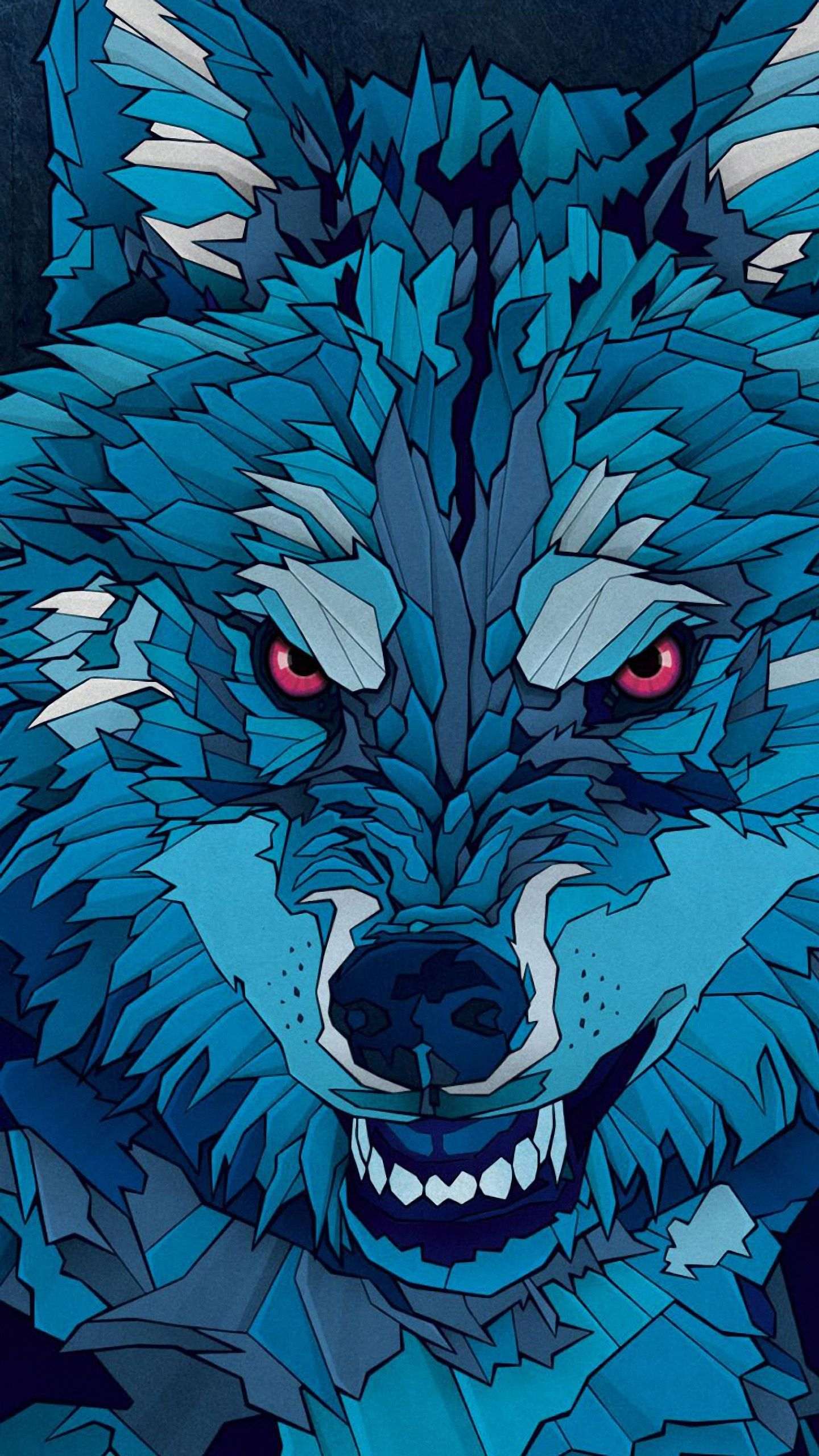 1440x2560 Wolf htc one m9/x9 Wallpapers HD 1440x2560