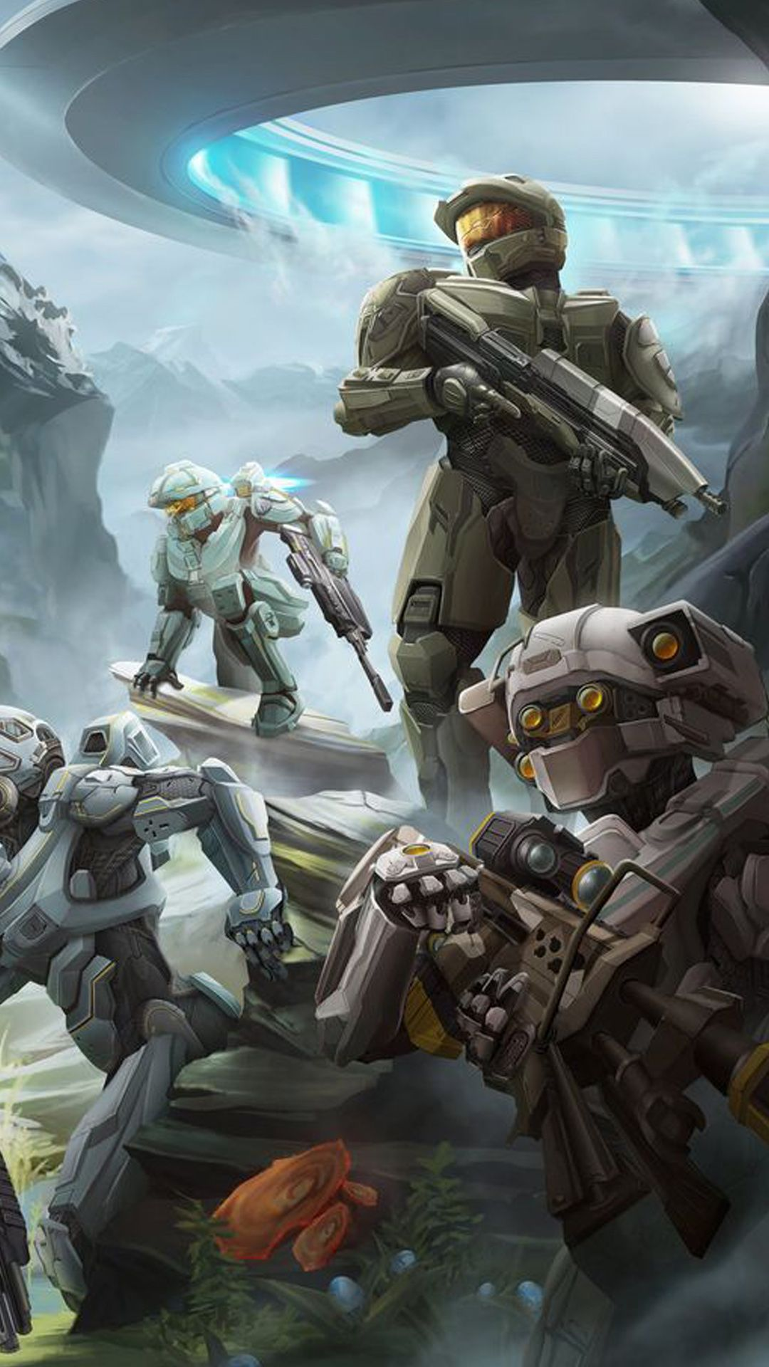 1080x1920 37 Halo Wars Wallpapers, HD Creative Halo Wars Pics, Full HD Wallpapers