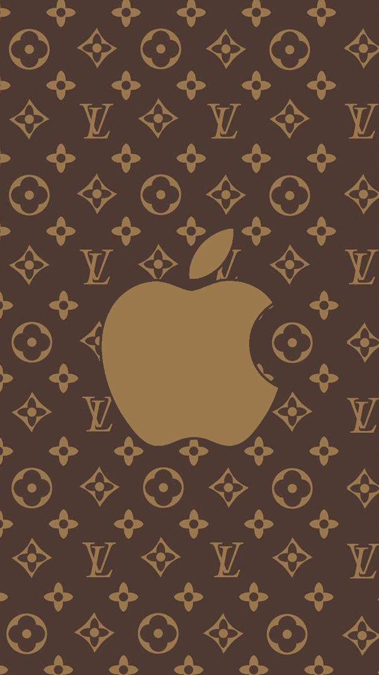 750x1334 iPhone 7 Wallpapers Louis Vuitton Brown