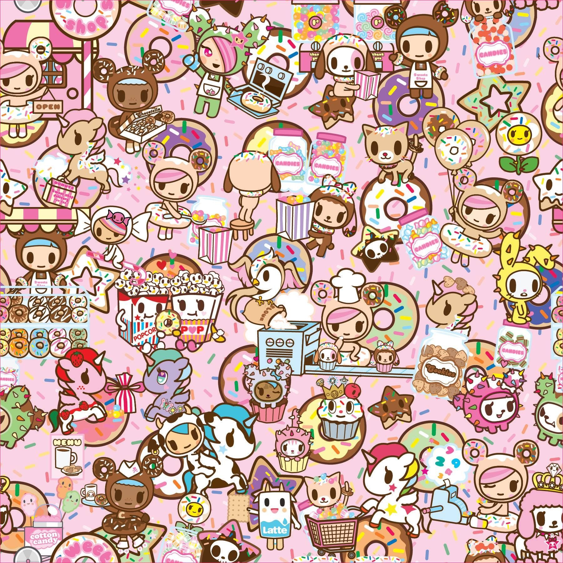 1800x1800 Tokidoki Wallpapers 13 - 1800 X 1800 | stmed.net