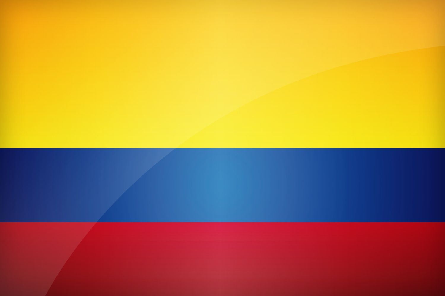 1500x1000 Flag of Colombia   Find the best design for Colombian Flag