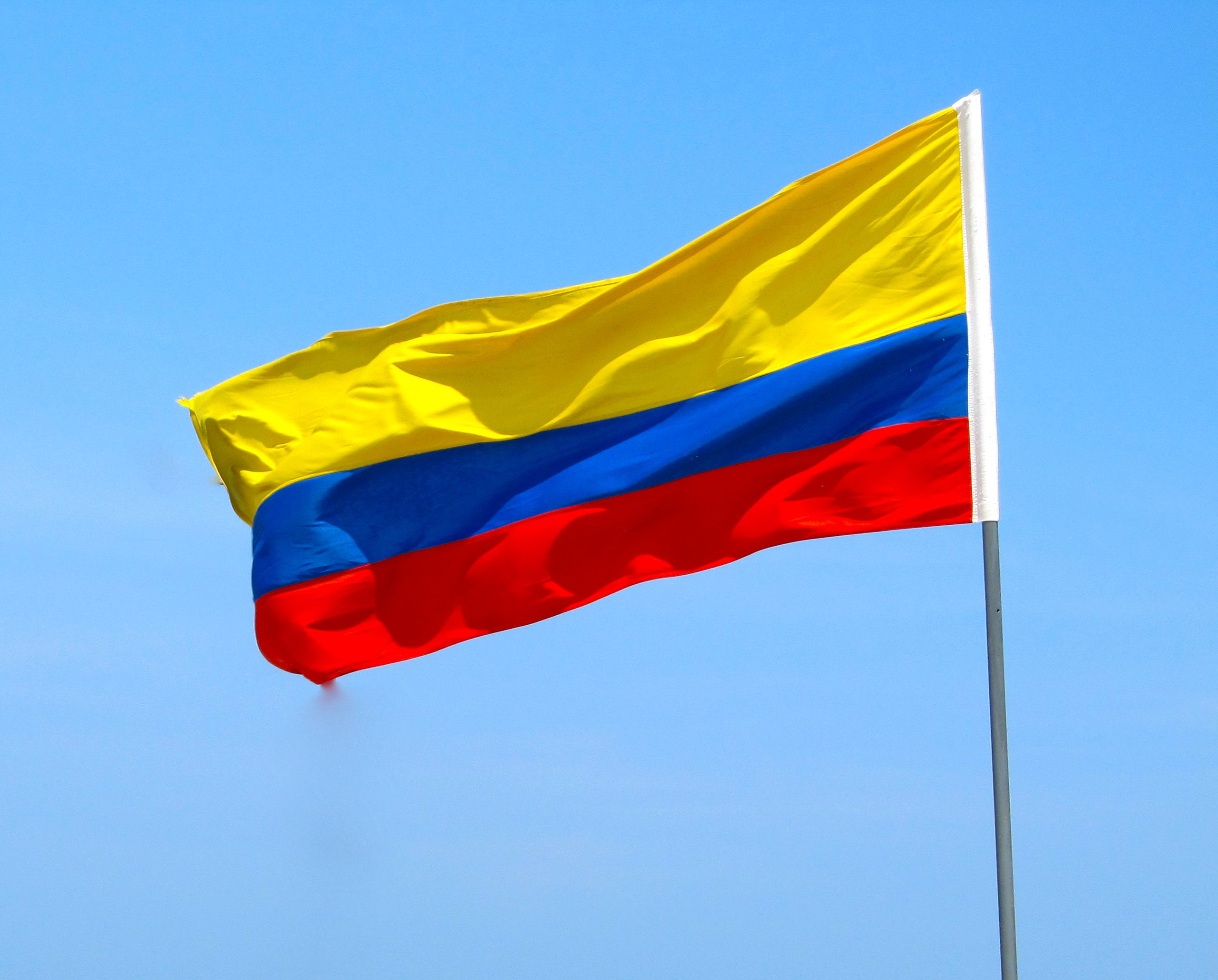 2556x2058 Colombia Flag HD Wallpapers   Backgrounds