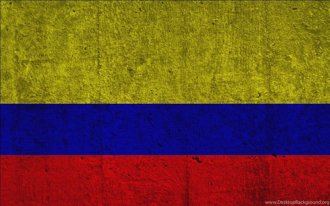 1280x800 Flags Colombia Desktop Background
