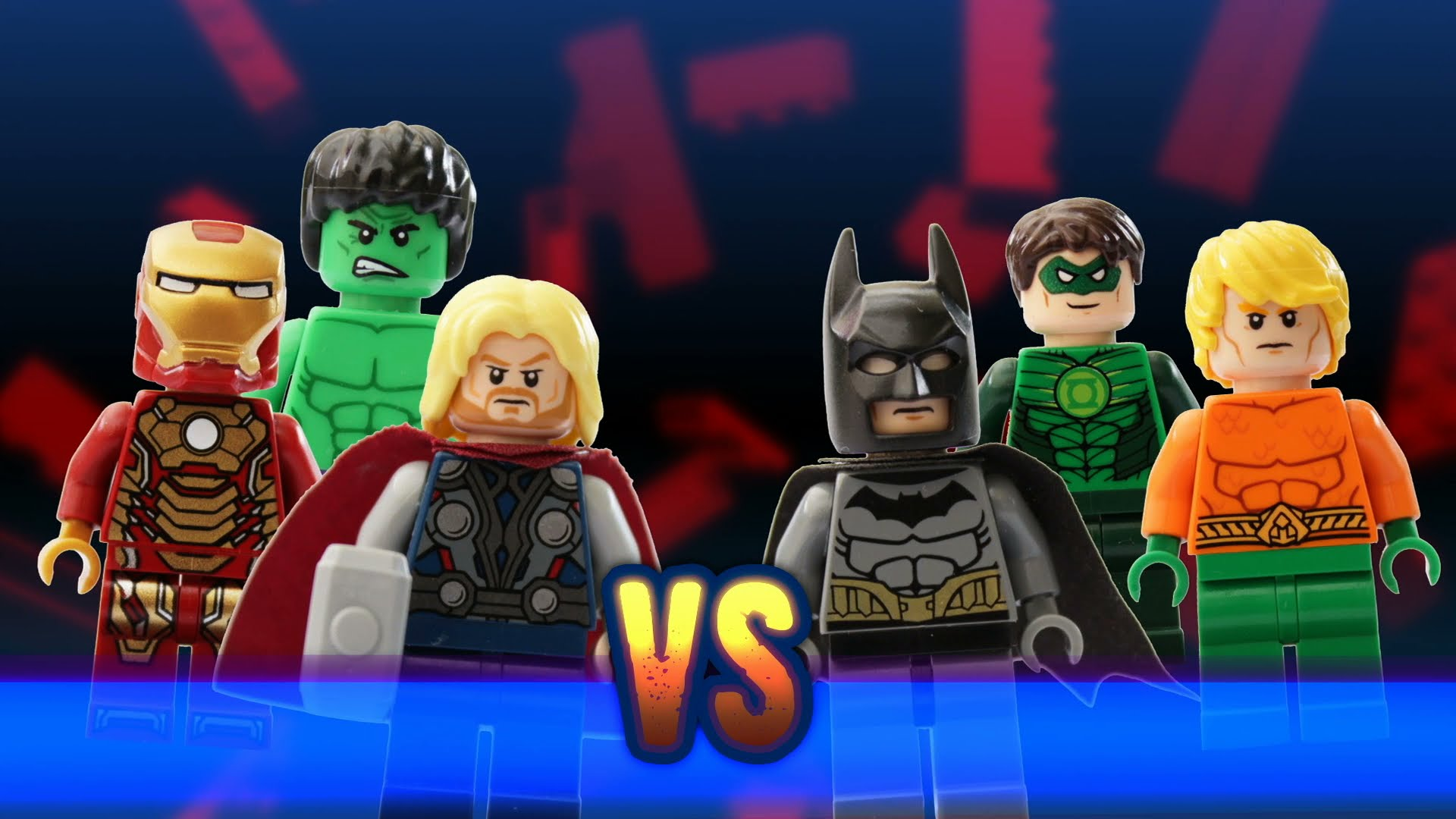 1920x1080 LEGO MARVEL vs DC - YouTube