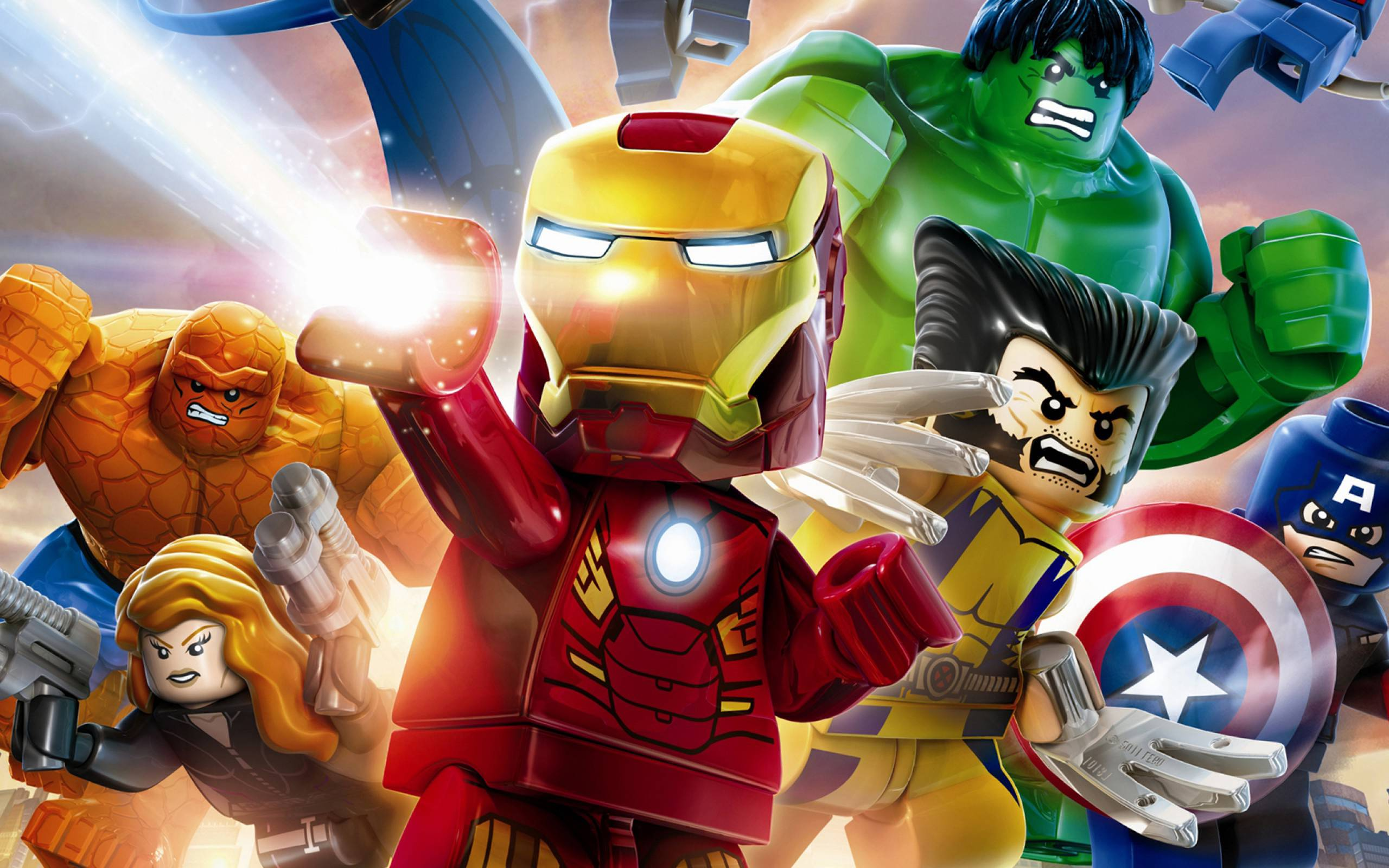 2560x1600 LEGO Marvel Super Heroes HD Wallpapers and Background Images - stmed.net
