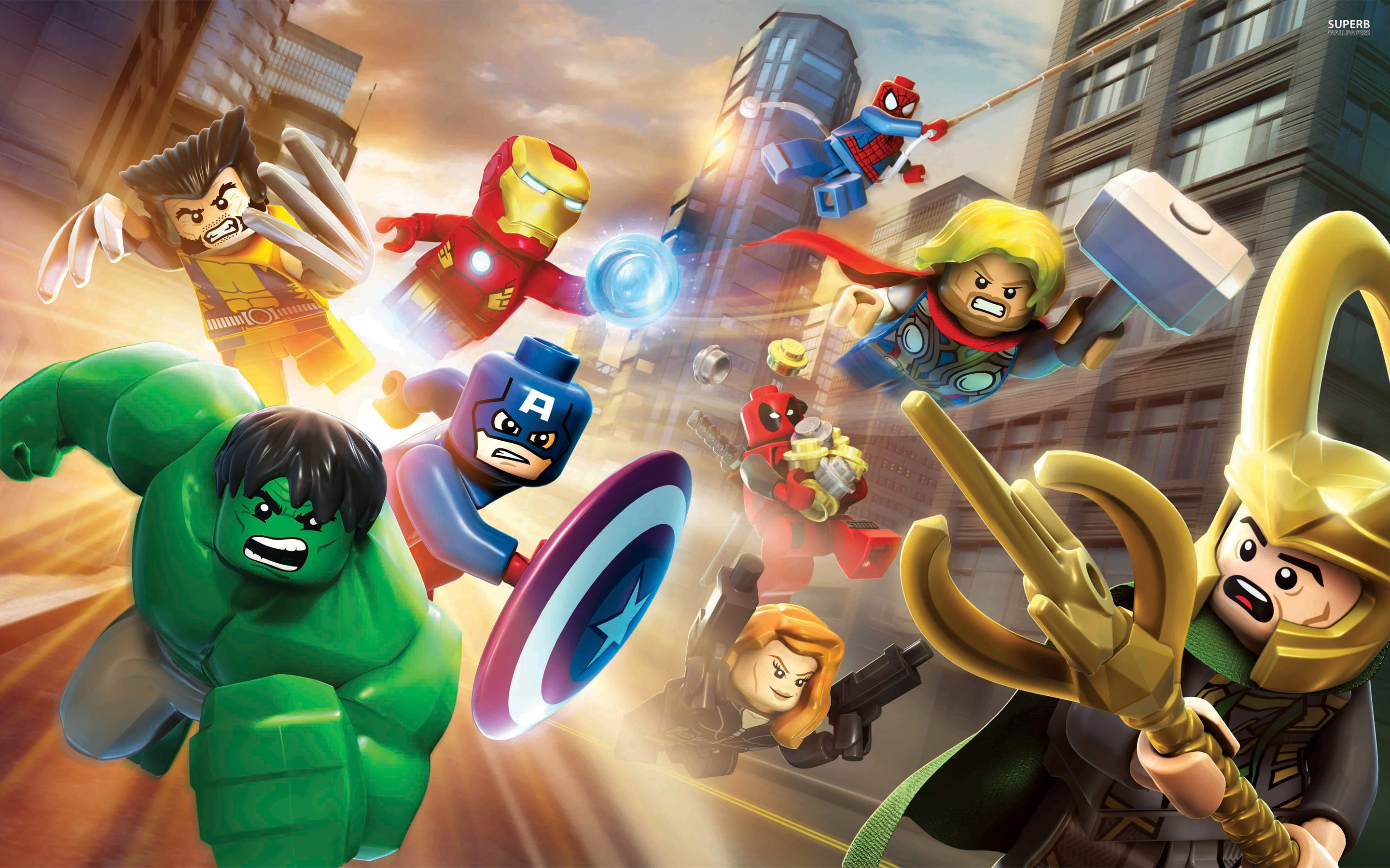 2880x1800 Lego Marvel Super Heroes Wallpaper HD Desktop Wallpaper, Instagram ...