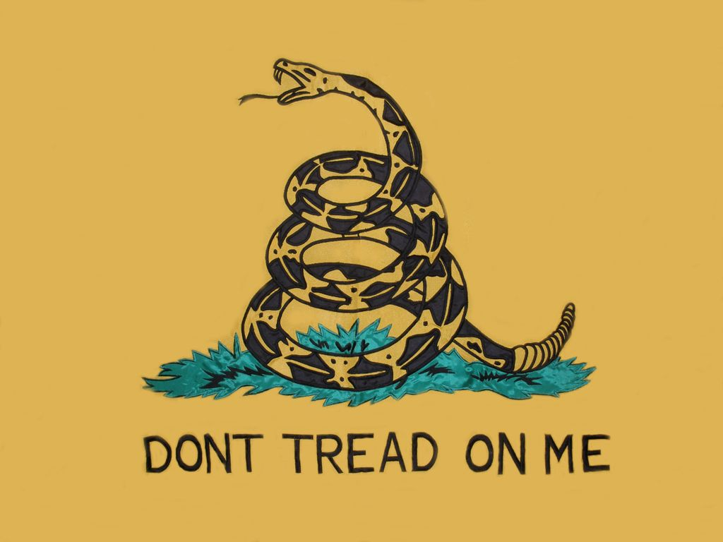 1024x768 Grunge Dont Tread On Me The Gadsden Flag is wallpaper for your 907 ...