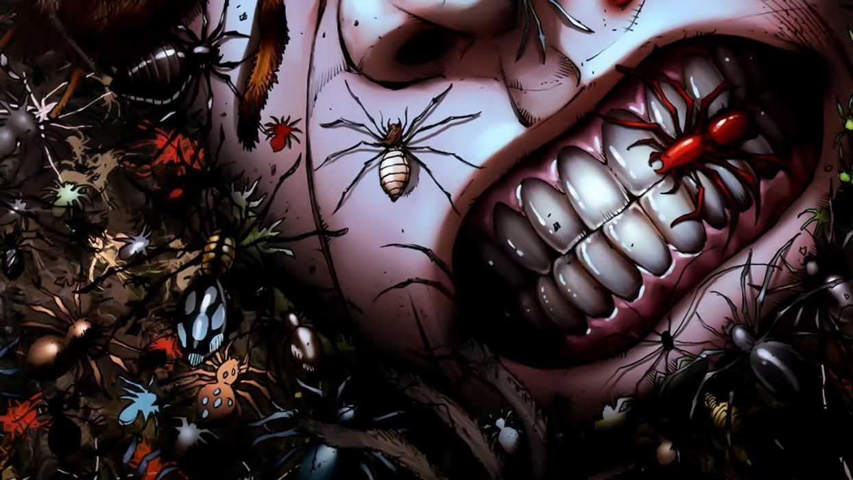 1244x700 Grimm-Fairy-Tales comics anime dark horror insects spider grimace ...