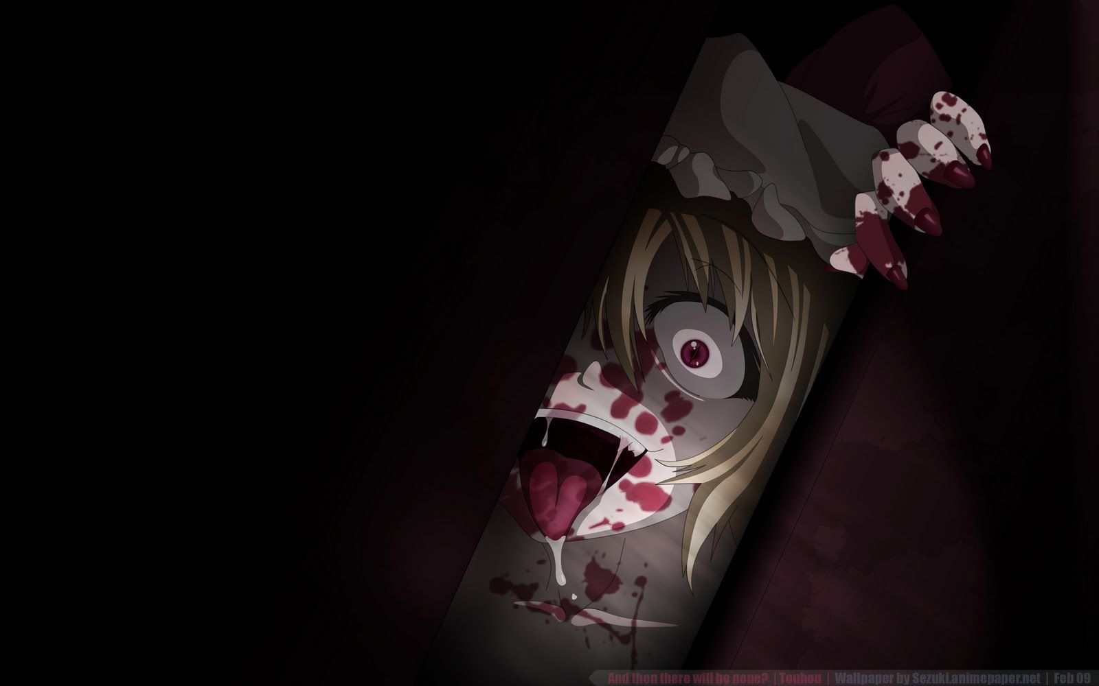 1600x1000 Scary Anime Wallpaper - WallpaperSafari